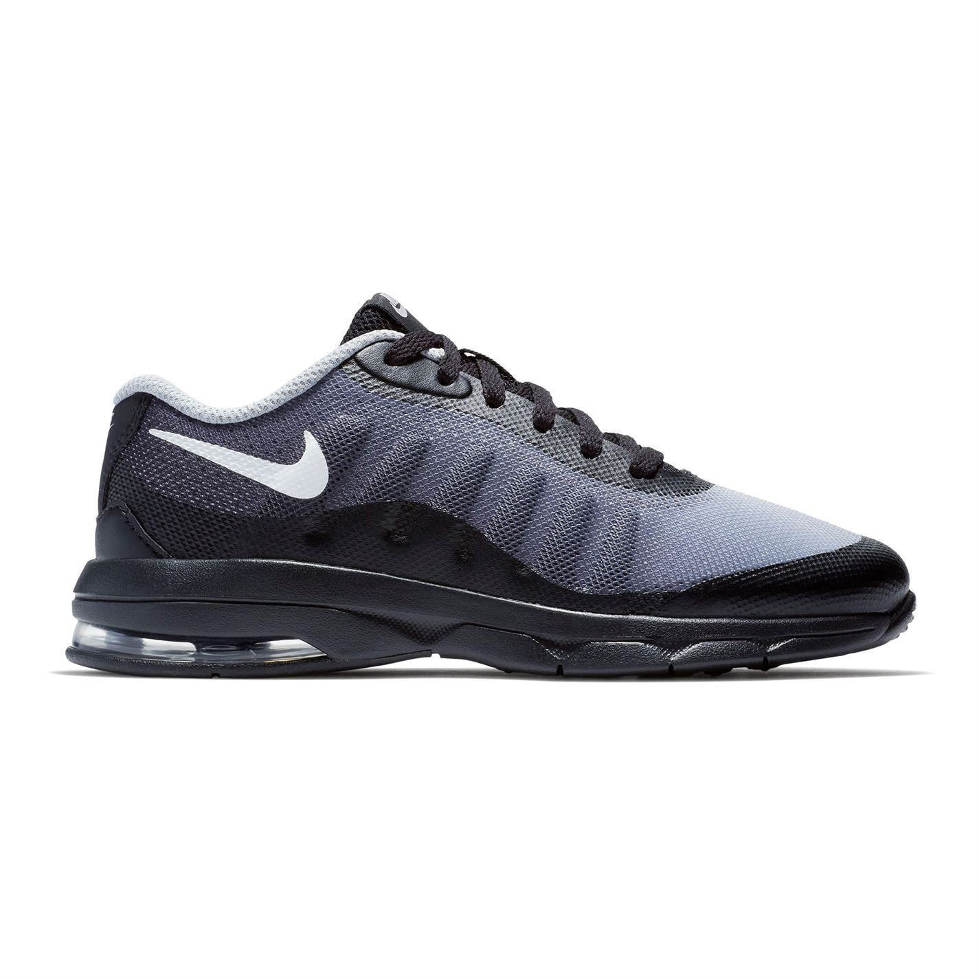 1a36c0062f Details about Nike Air Max Invigor Print Boys Trainers Black/White/Gry Shoes  Footwear