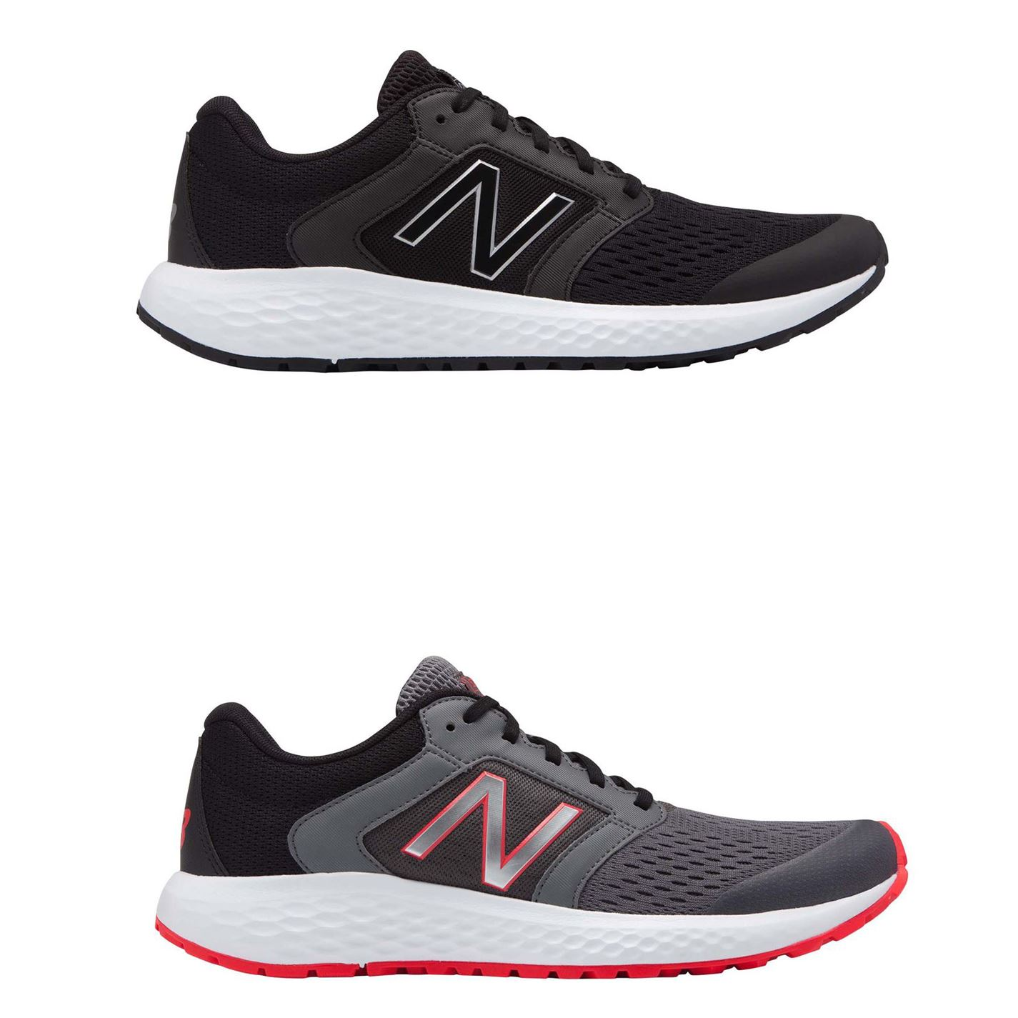 New Balance 520V5 M520SB5 Mens Black Extra Wide 4E Athletic Running Shoes 14