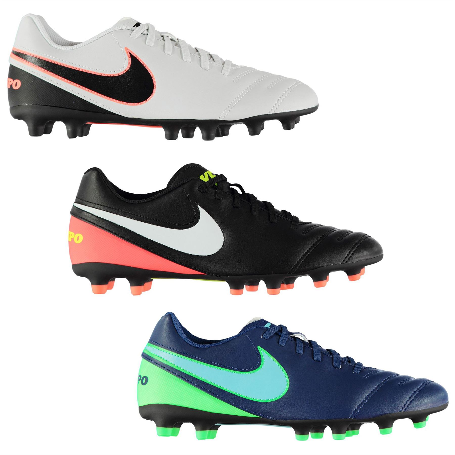 c70f65056e4 ... Nike Tiempo Rio FG Firm Ground Football Boots Mens Soccer Shoes Cleats  ...