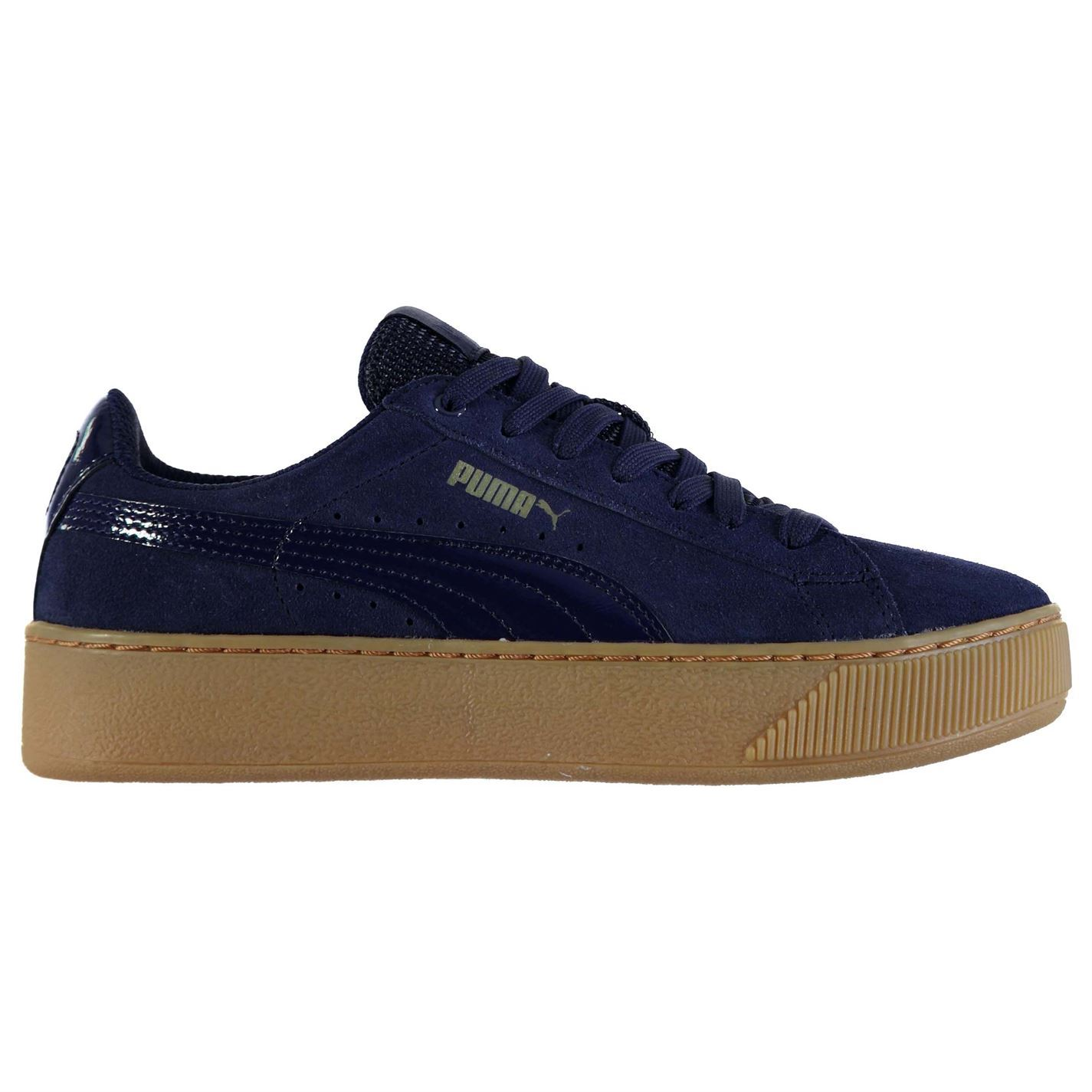 puma vikky platform ladies trainers
