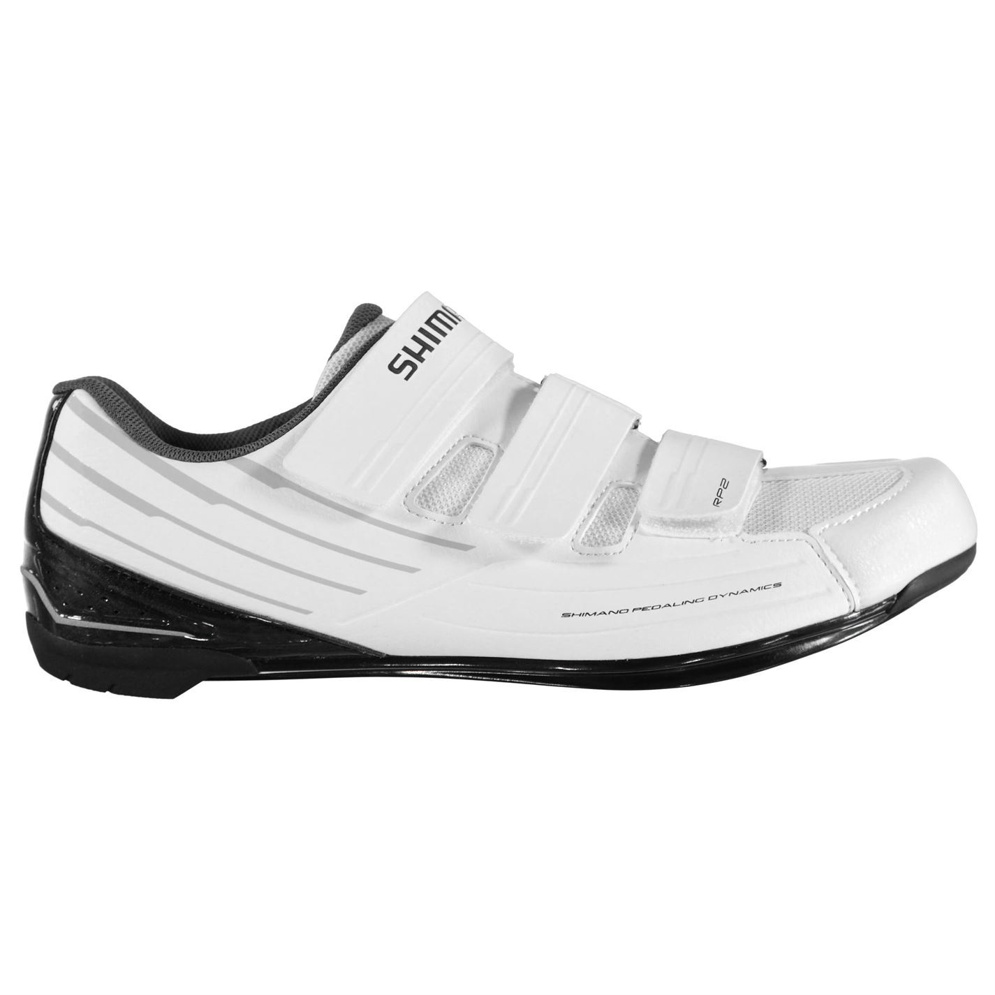 d9514b3a9cc Shimano RP2 SPD SL Cycling Shoes Mens White Trainers Footwear | eBay