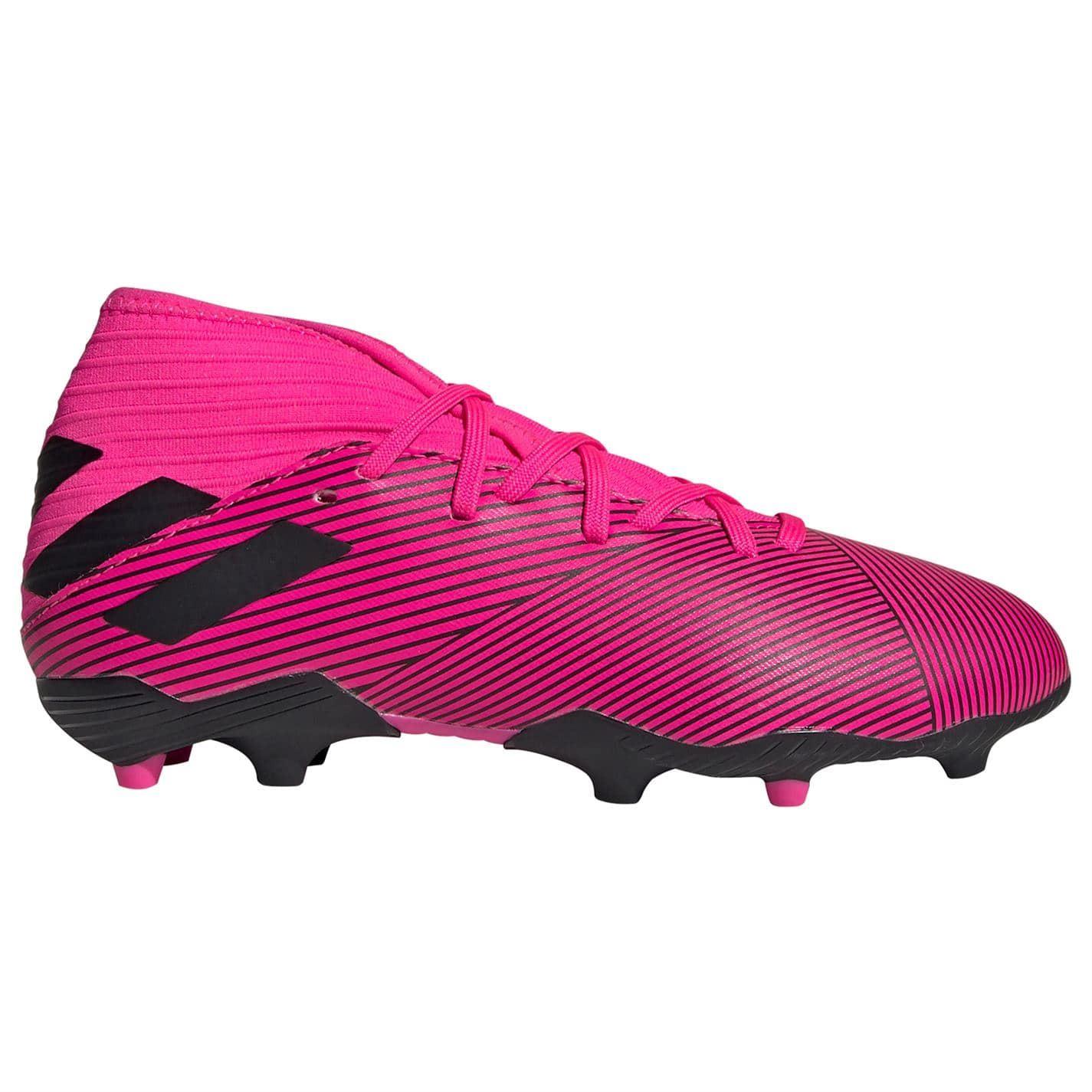 Adidas Nemeziz 19.3 Fg Football Bottes Hommes RoseNoir