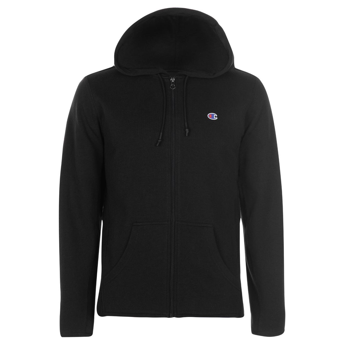Champion-Interlock-Full-Zip-Hoody-Mens-Hoodie-Top-Sweatshirt-Sweater thumbnail 4