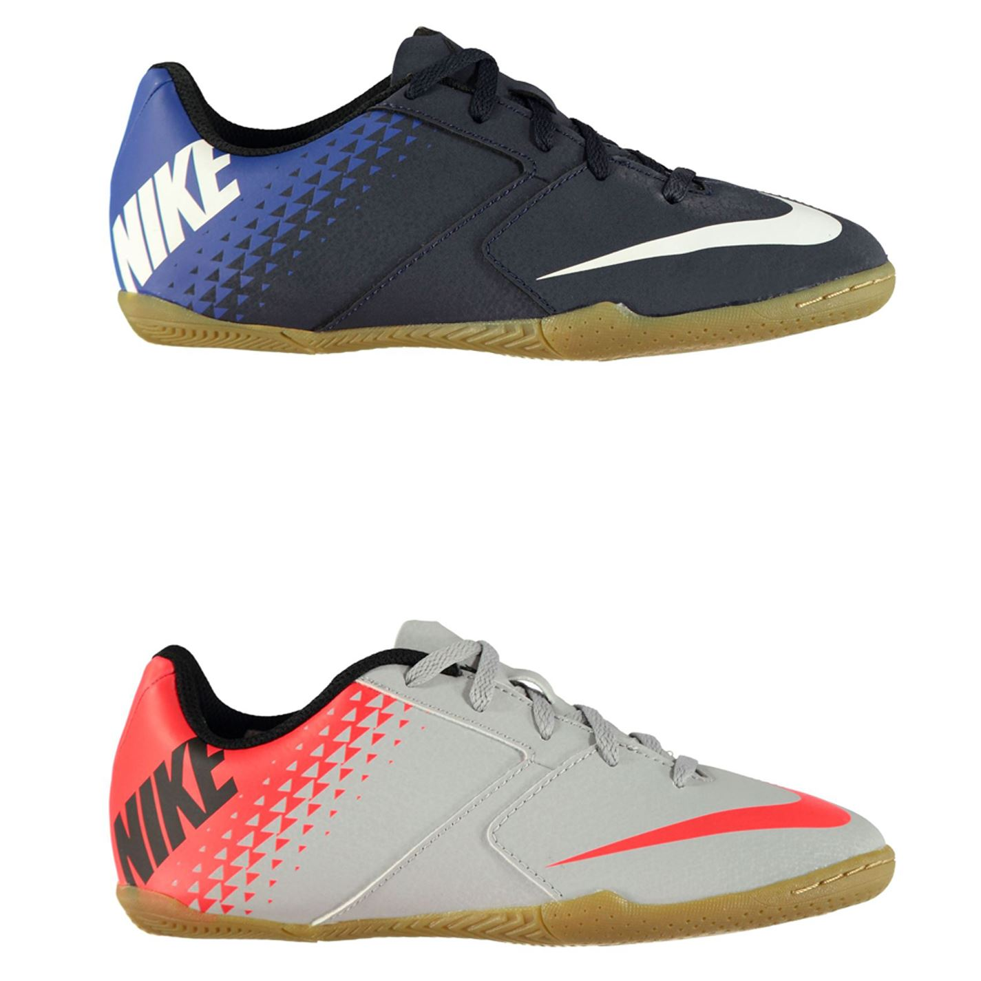 ... Nike Bomba X Indoor Court Football Trainers Juniors Soccer Shoes  Sneakers ... 6908f5cd49c