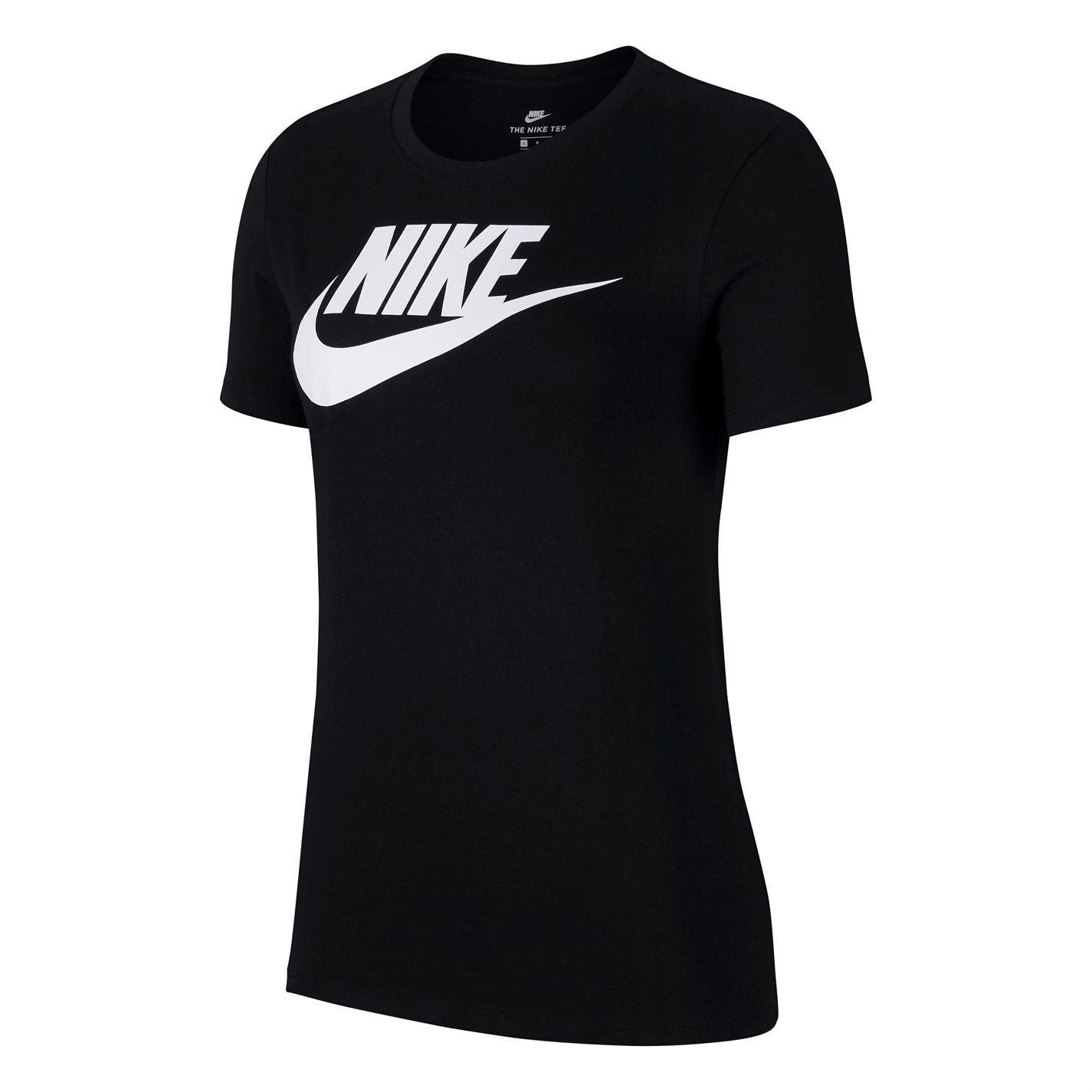 Nike Futura T-Shirt Womens Top Tee Shirt Athleisure Activewear