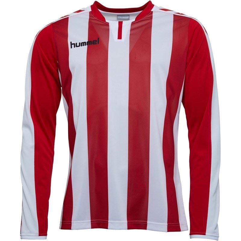 thumbnail 20 - Hummel-Long-Sleeve-Football-Shirt-Mens-Soccer-Jersey-Top-T-Shirt