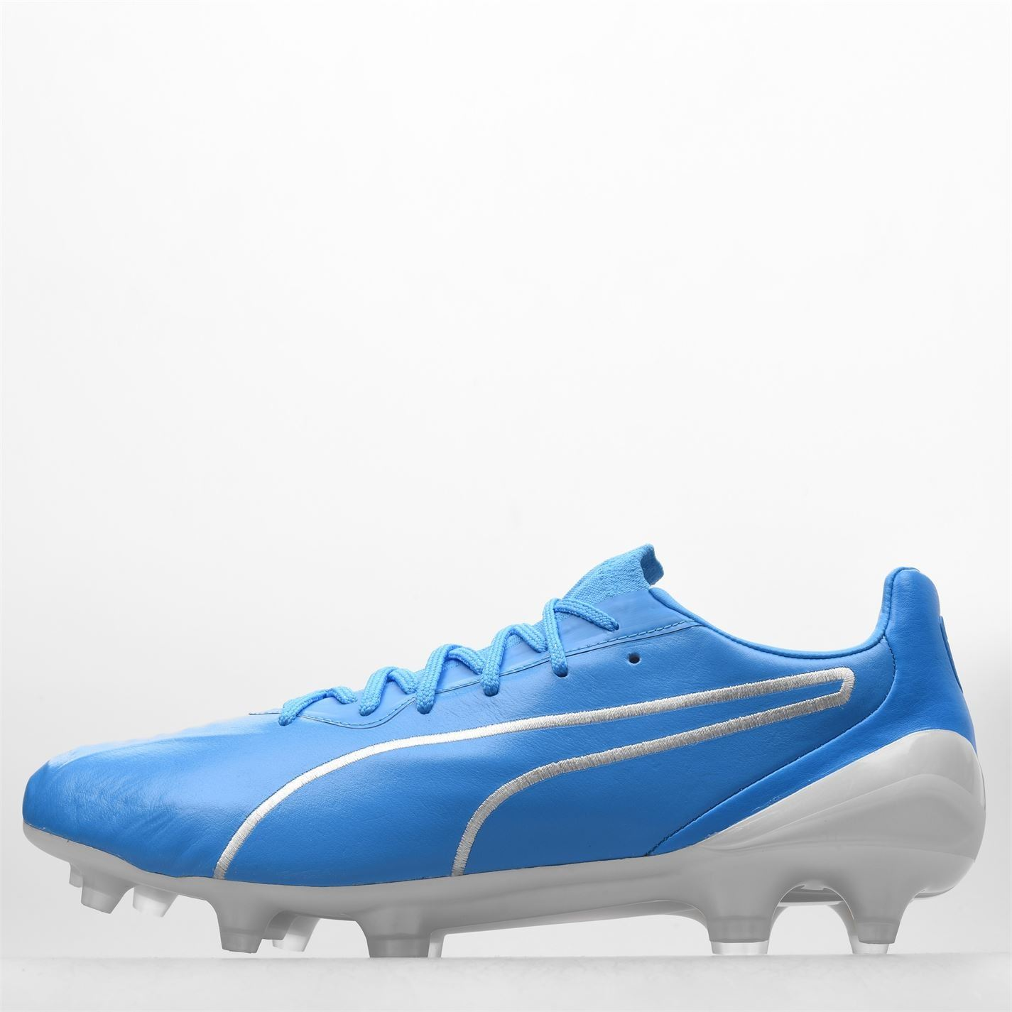miniature 5 - Puma-King-FG-Firm-Ground-Football-Bottes-Homme-Chaussures-De-Foot-Crampons-Baskets