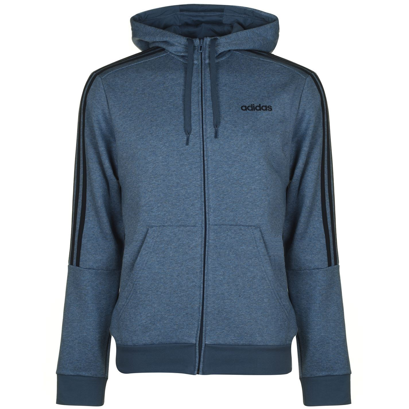 Details about adidas Mens 3S Logo Hoody OTH Hoodie Long Sleeve Hooded Casual Top