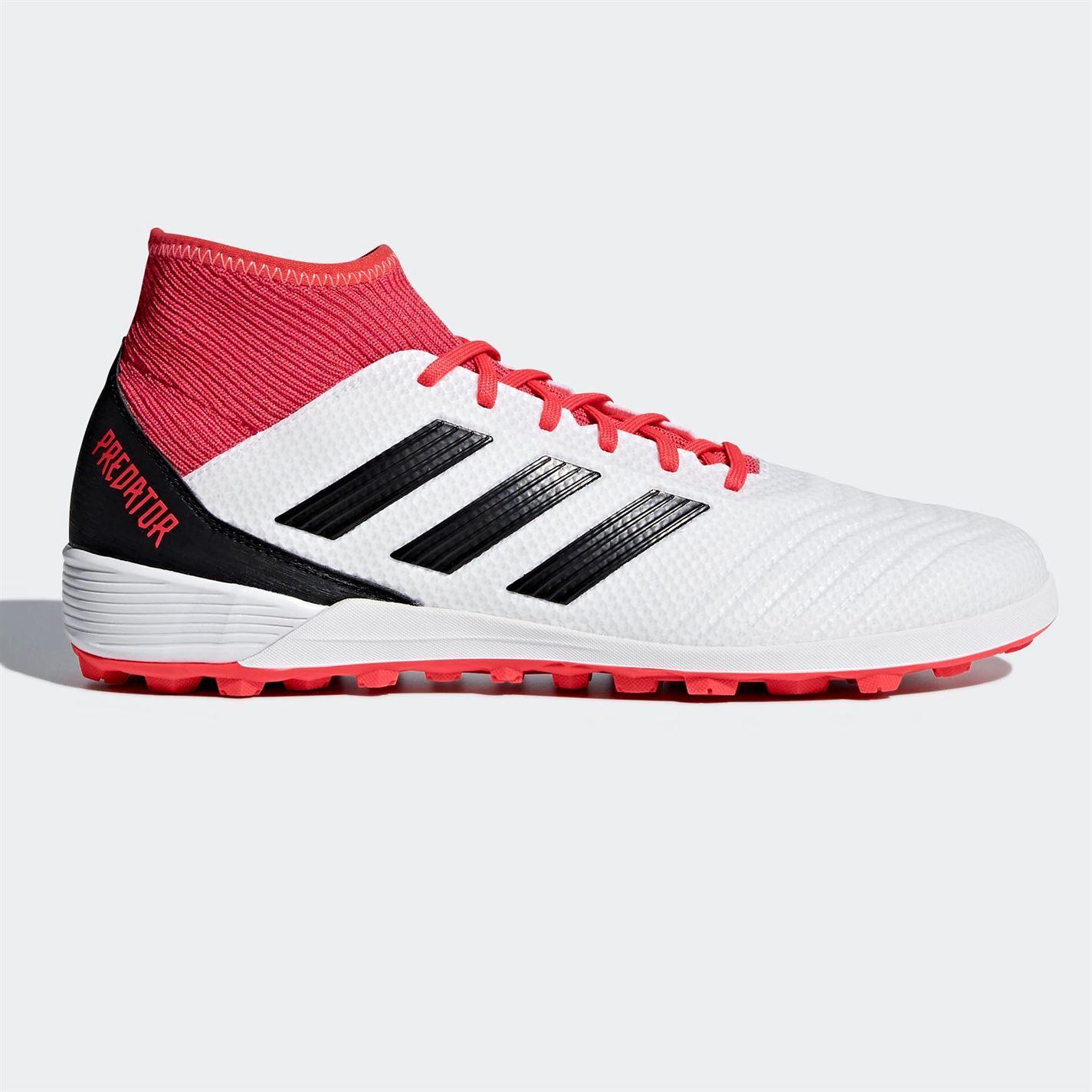 b032fb990 adidas Predator Tango 18.3 Astro Turf Football Trainers Mens White Soccer  Shoes