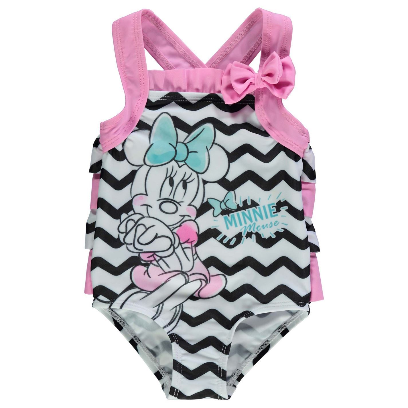1ca2b607a Minnie Mouse Swimsuit Infant Baby Girls Swimwear Bathing Costume ...