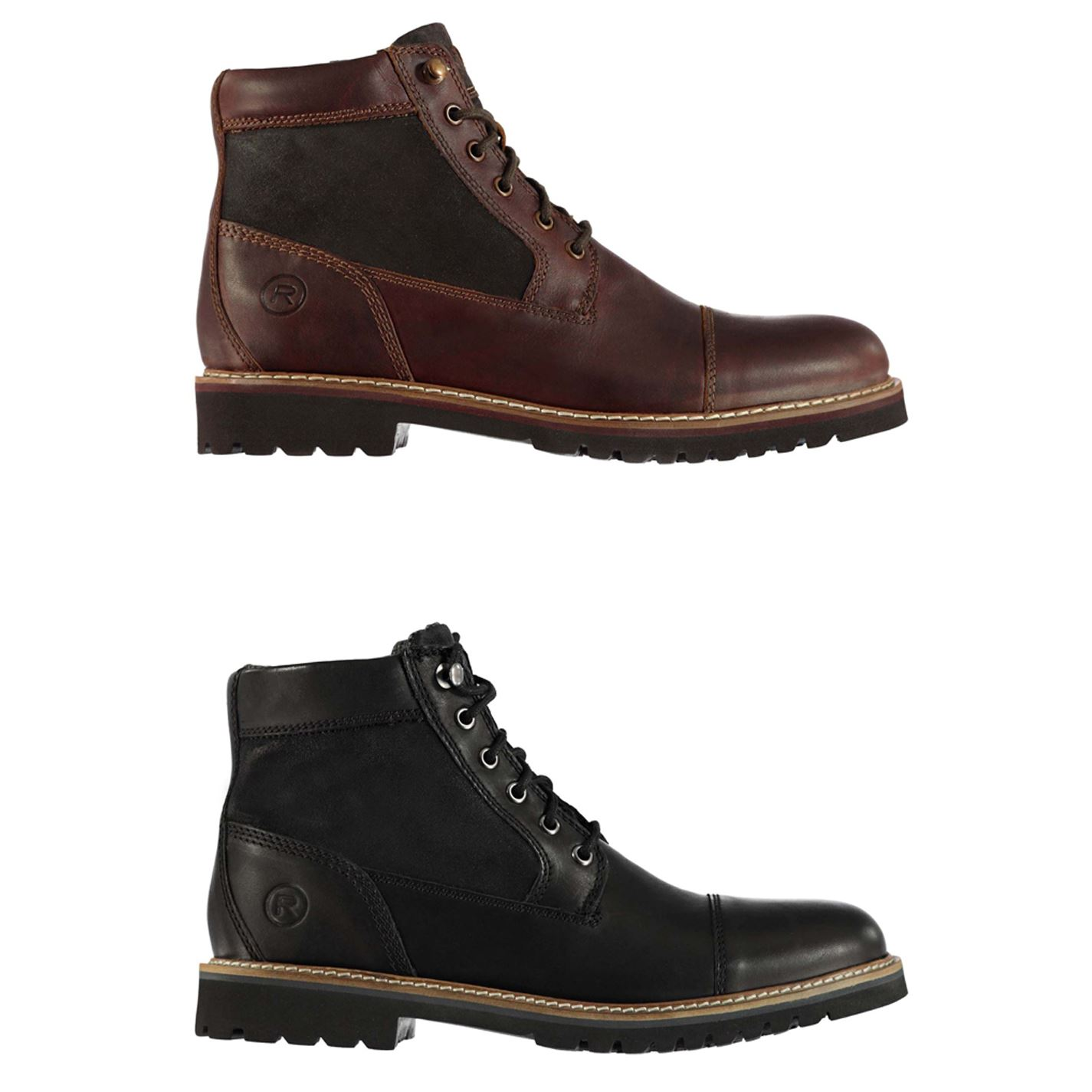 Rockport Marshall Cap Toe Ankle Boots