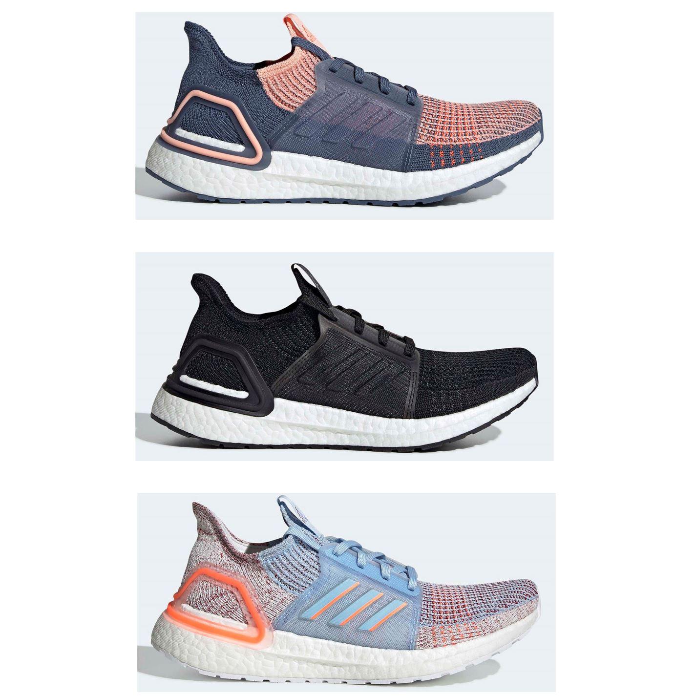 Detalles de Adidas Ultraboost 19 Mujer Zapatillas Running Athleisure Zapatillas