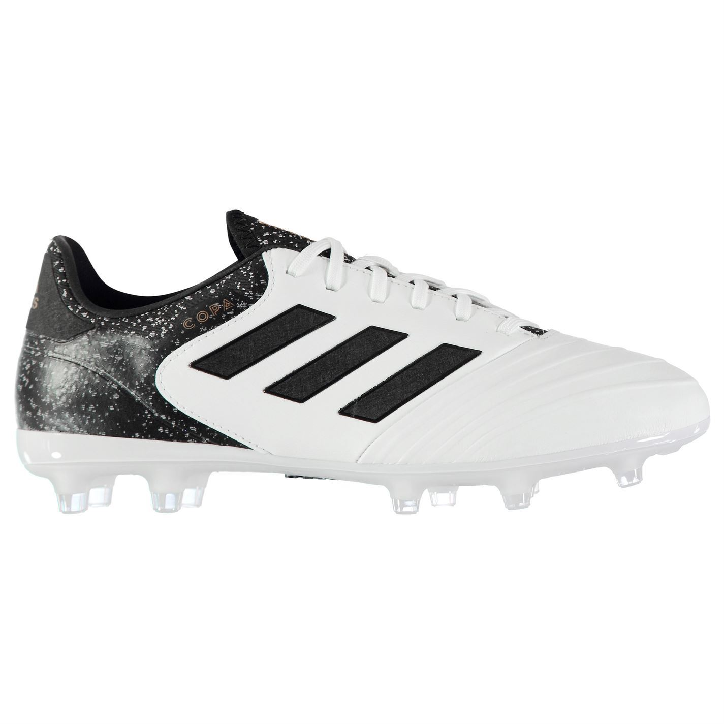 adidas Copa 18.2 Firm Ground Football Boots Mens White Black Gold Soccer  Cleats b53186da8d1