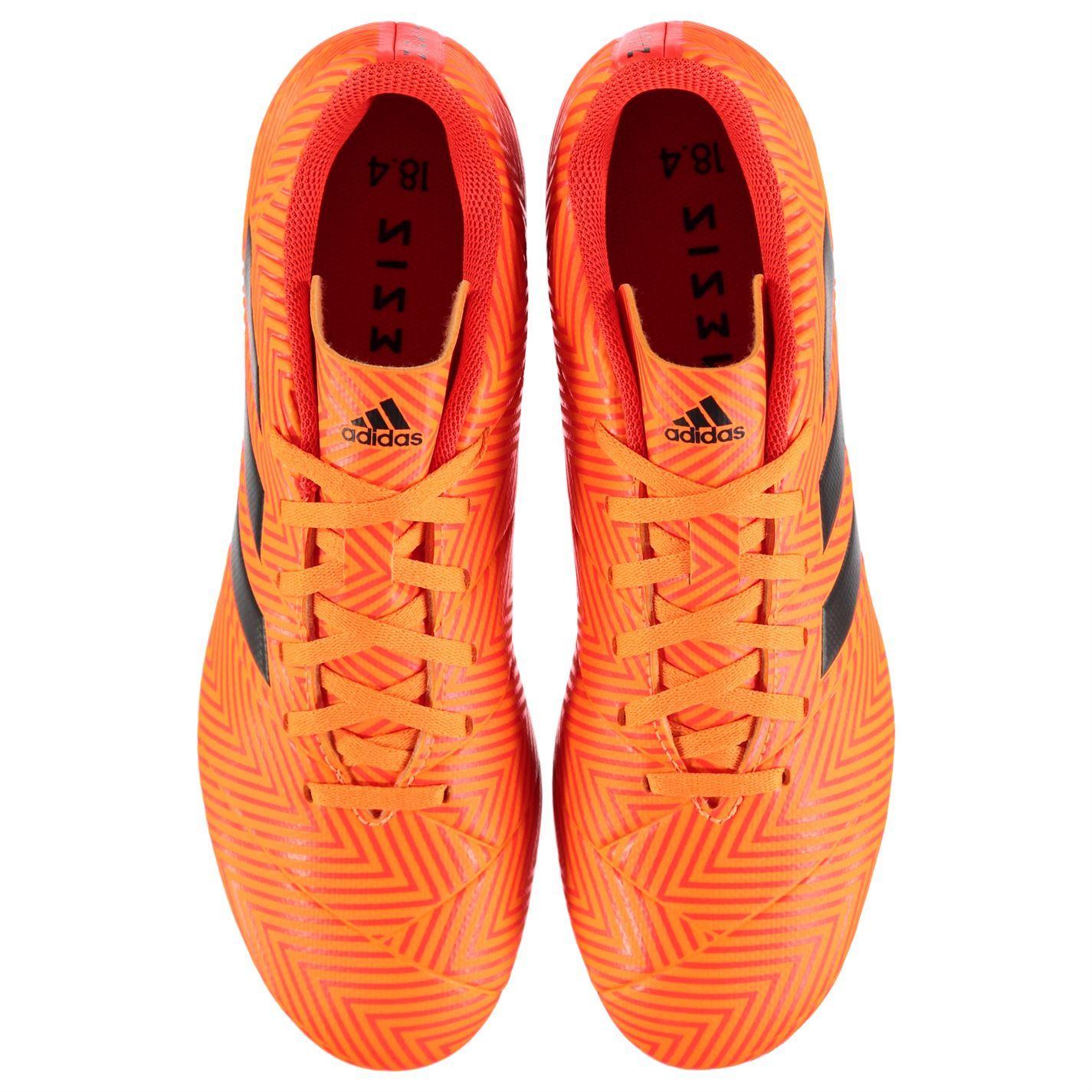 fe16e1591772 ... adidas Nemeziz 18.4 Firm Ground Football Boots Mens Orange Soccer Shoes  Cleats