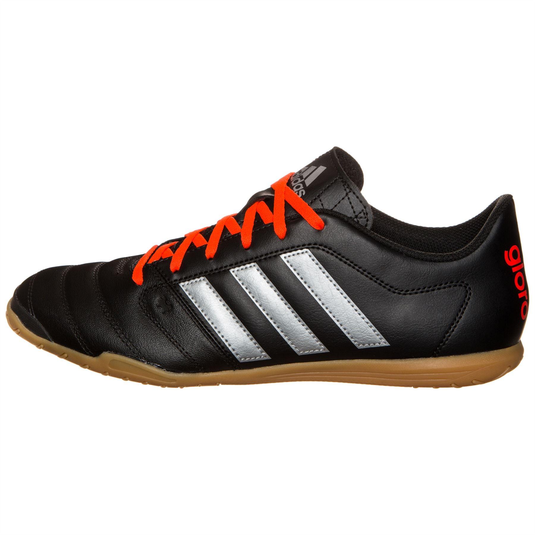 ... adidas Gloro 16.2 Indoor Football Trainers Mens Black Soccer Futsal  Sneakers ...