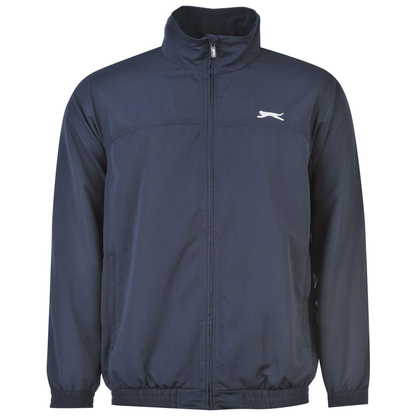 a83197a7d9e ... Slazenger Woven Tracksuit Set Bottoms & Track Jacket Mens Navy ...