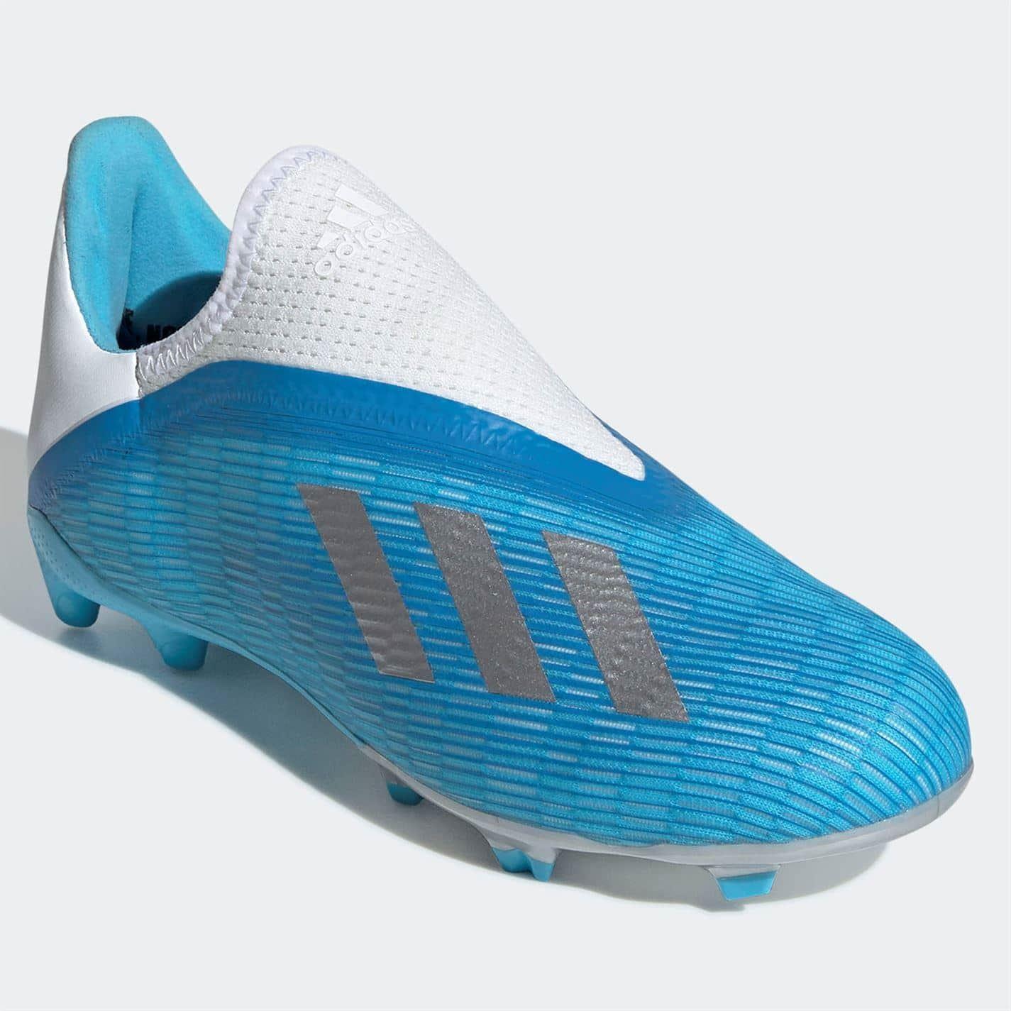 adidas X 19.3 IN Junior Indoor Soccer Shoes CyanBlack