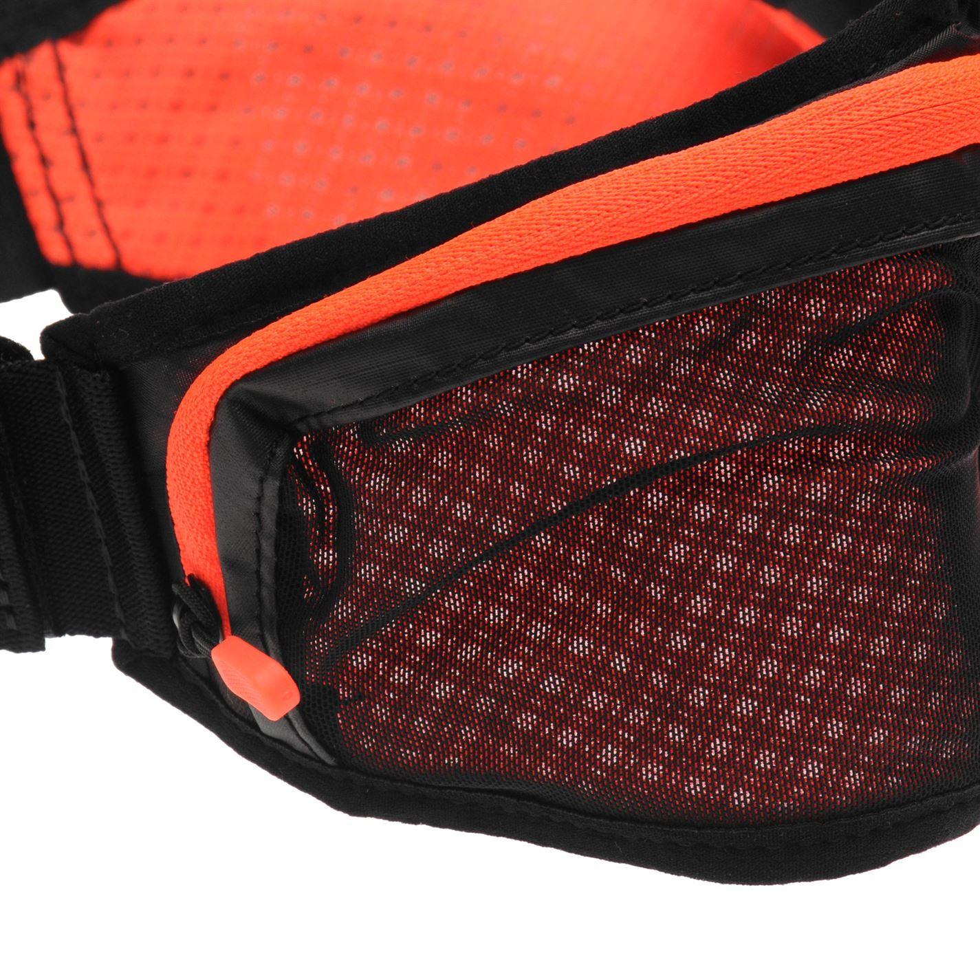 ... Boccetta di Twin Nike Running Belt Black Red Jogging Marsupio Fanny Pack 3346c9b80df3