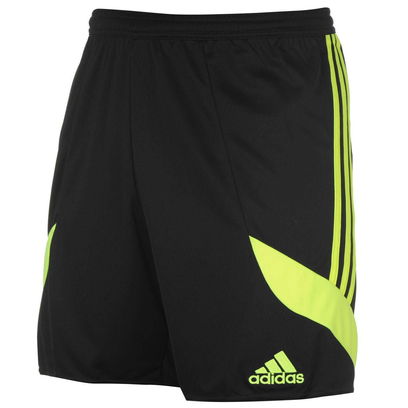 Details Shorts Soccer About Short Football Blackyellow Nova Sportswear Mens Adidas 14 E9IHD2