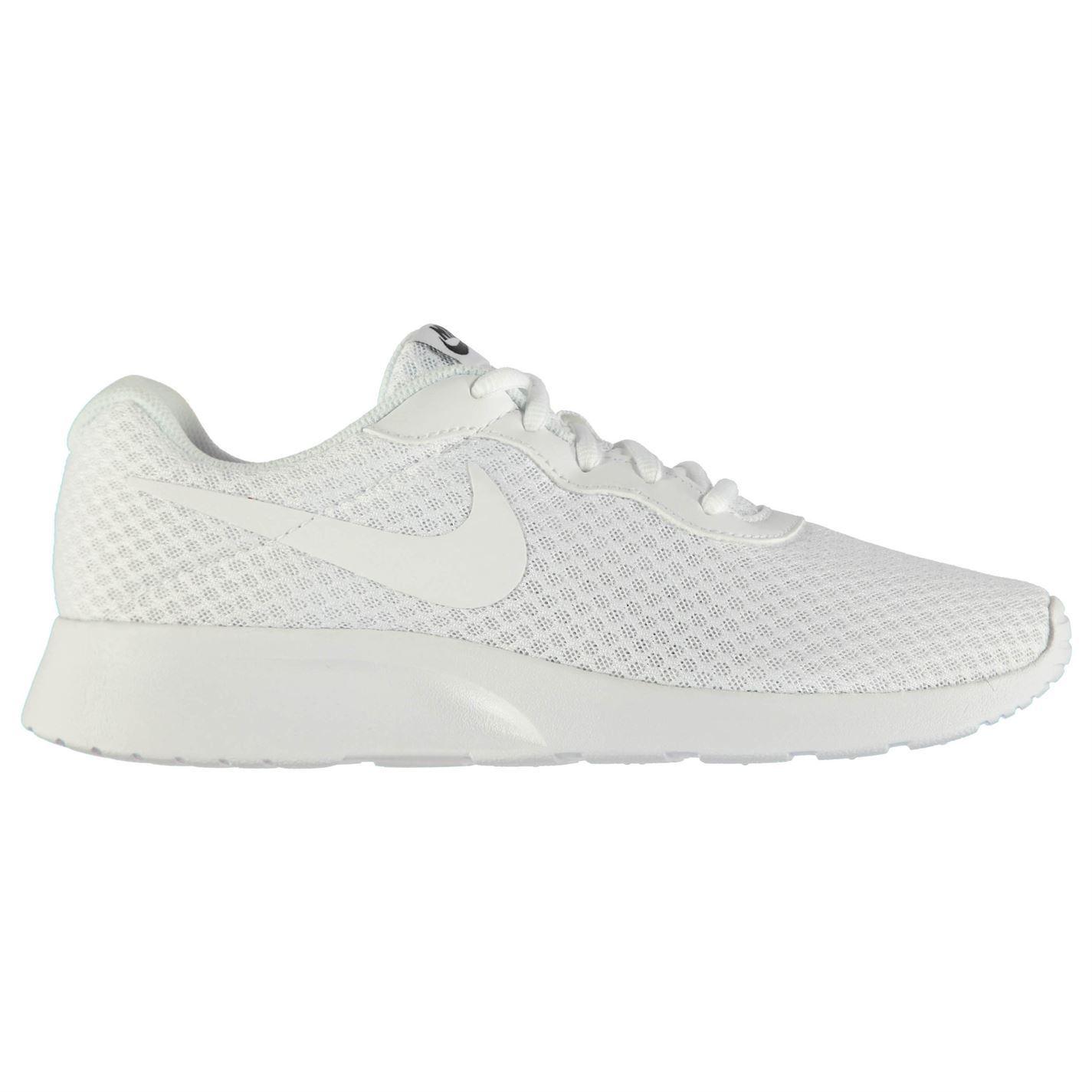 Nike Tanjun Training Fitness Shoes Mens White/White Sports Fitness Training Trainers Sneakers 9dc074