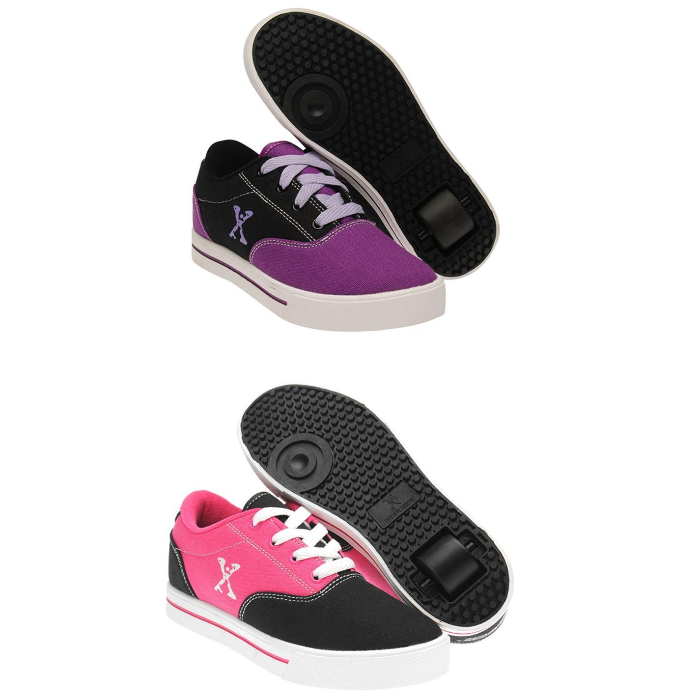 Sidewalk Sport Kids Girls Canvs Roller Shoes