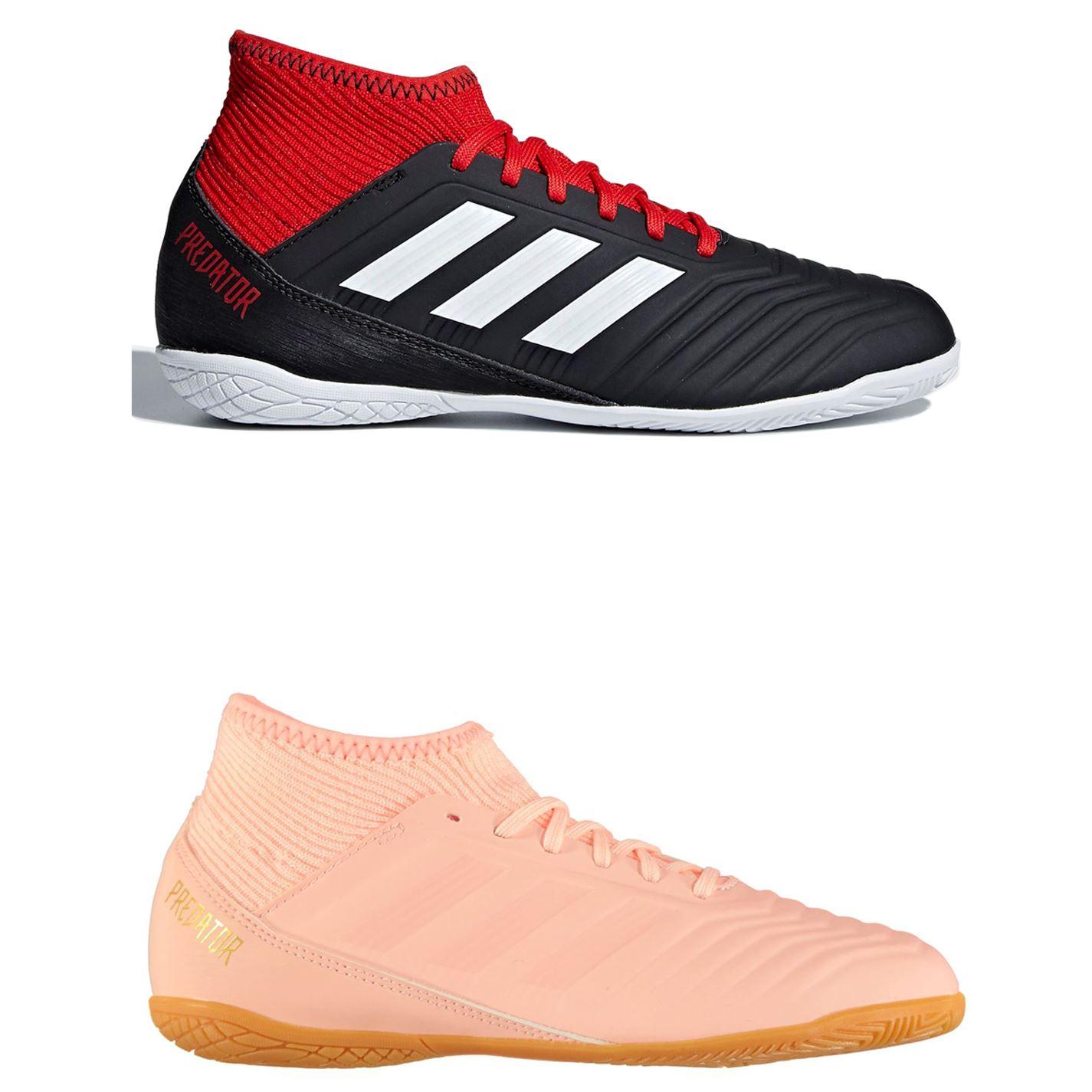 Dettagli su Adidas Predatore Tango 18.3 Indoor Calcio Scarpe Sportive Juniors Scarpe Calcio