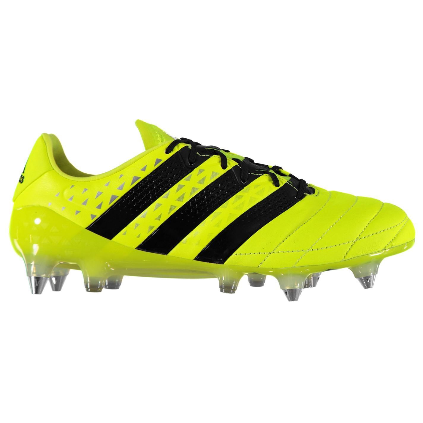 06718a53cc7 adidas Ace 16.1 SG Soft Ground Football Boots Mens Yellow Soccer Shoes  Cleats