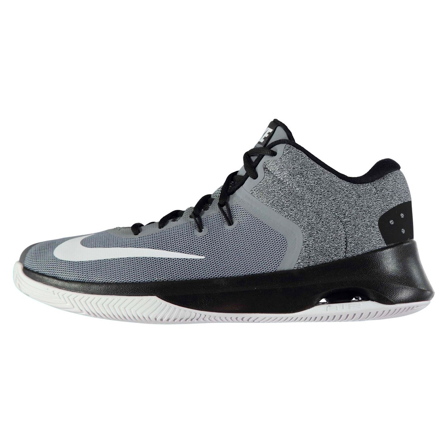 5c6d43e8ada Details about Nike Air Versitile II Basketball Shoes Mens Grey Trainers  Sneakers Footwear