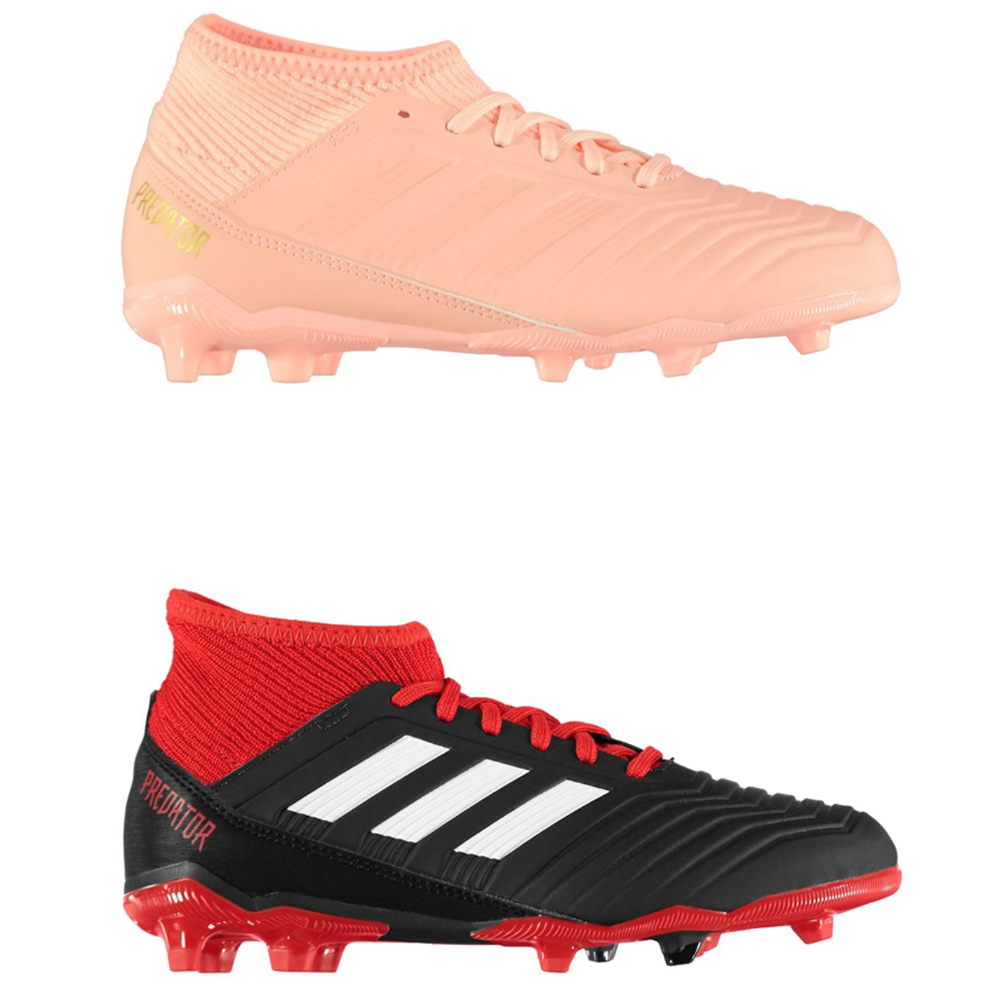 a887a6ff94dc ... adidas Predator 18.3 FG Firm Ground Football Boots Juniors Soccer Shoes  Cleats ...