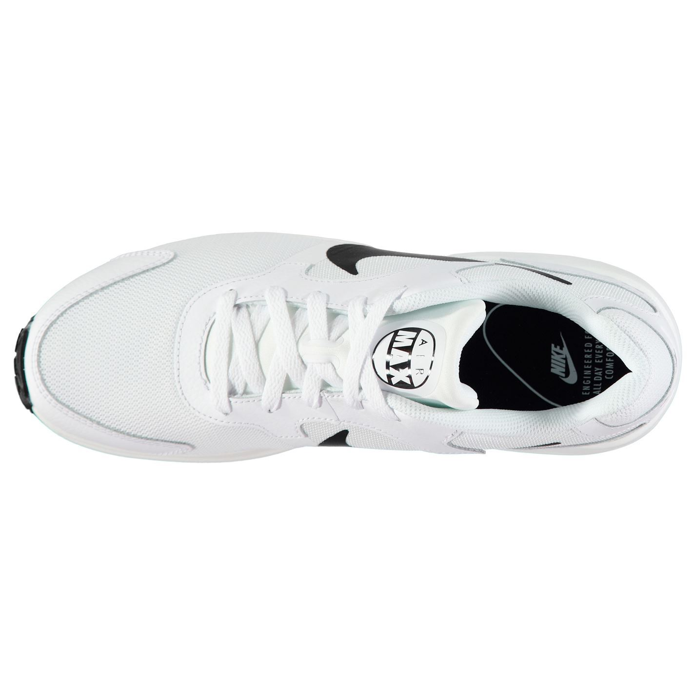 f7009e70255 ... hot nike air max guile trainers mens white black athletic sneakers shoes  a7e1a b8744