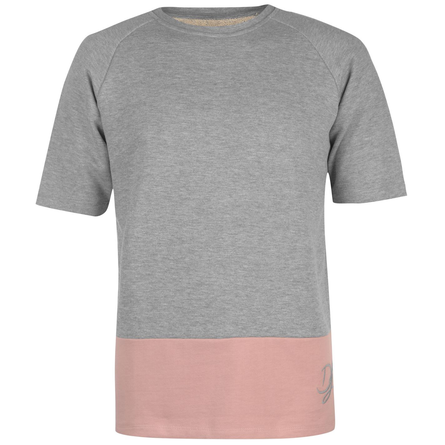 pretty cheap better better price for Details about Dead Legacy Short Sleeve Sweatshirt Mens Grey/Pink Sweater  Top Jumper