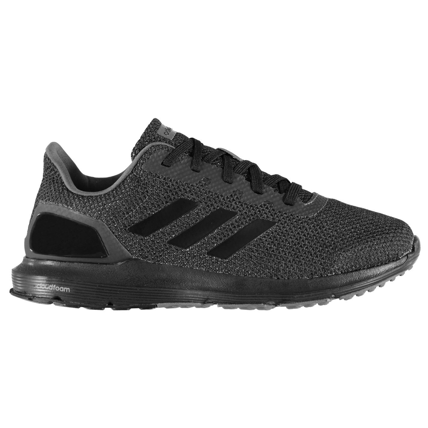 e70921d11 adidas Cosmic 2 Cloudfoam Trainers Mens Black Sports Shoes Sneakers ...