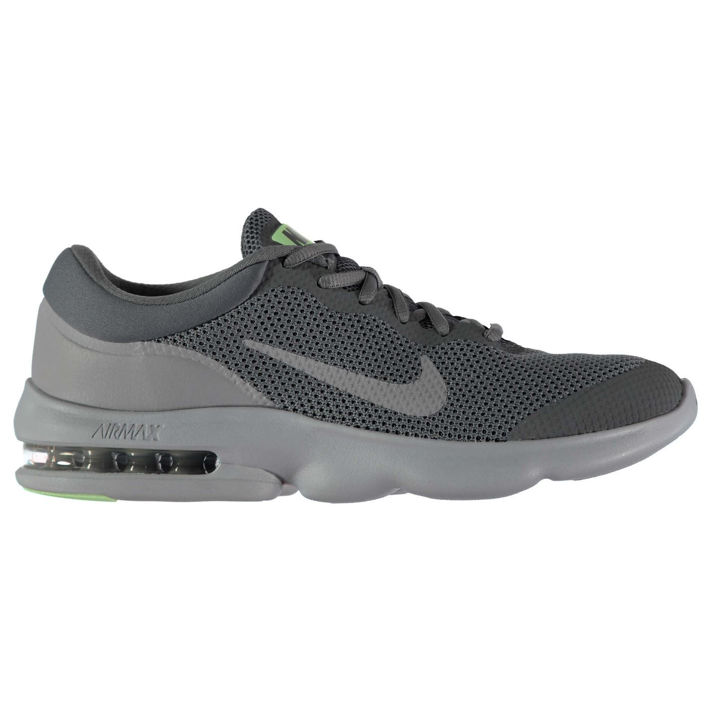 buy popular f092c 6f4fc ... coupon code for nike air max advantage running shoes mens grey jogging  trainers sneakers 60c9f 303e4