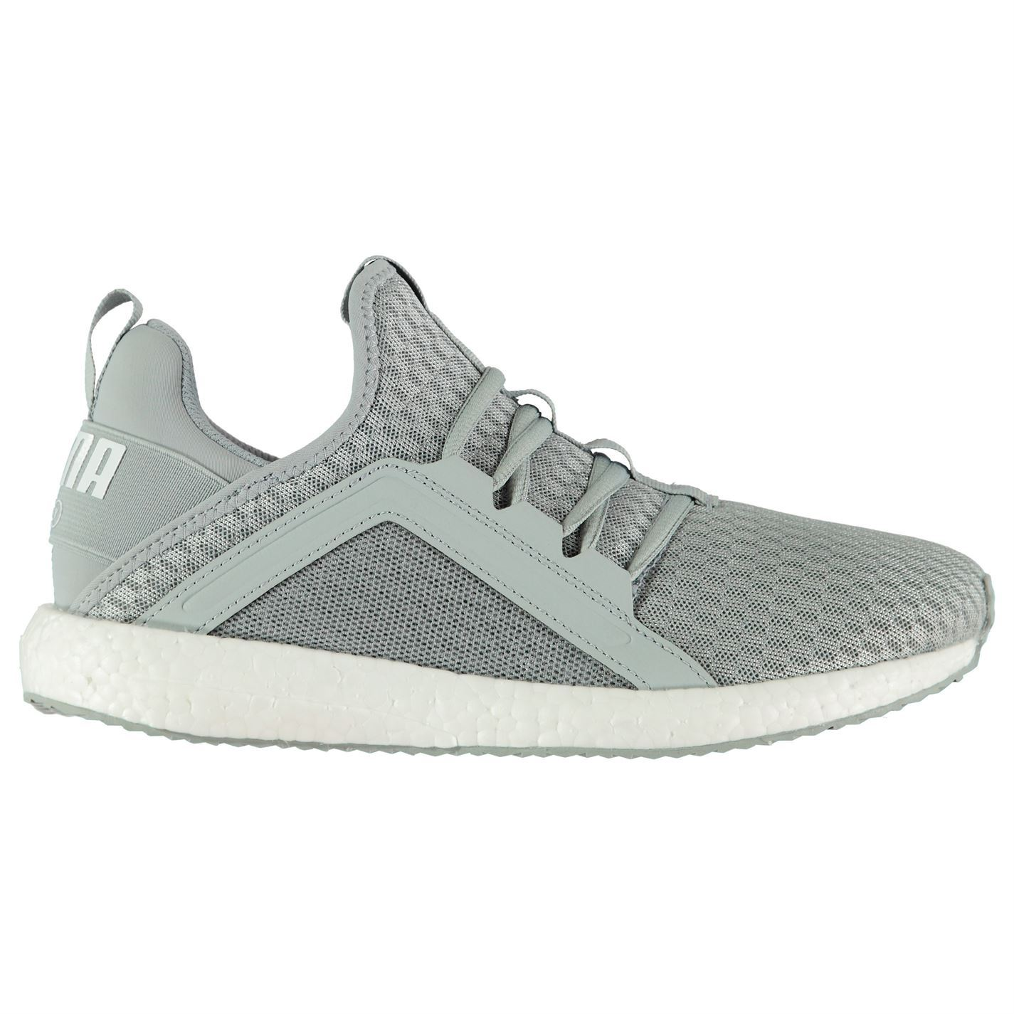 ... Puma Mega NRGY Running Shoes Womens Grey Run Jogging Trainers Sneakers  ... e94e01172