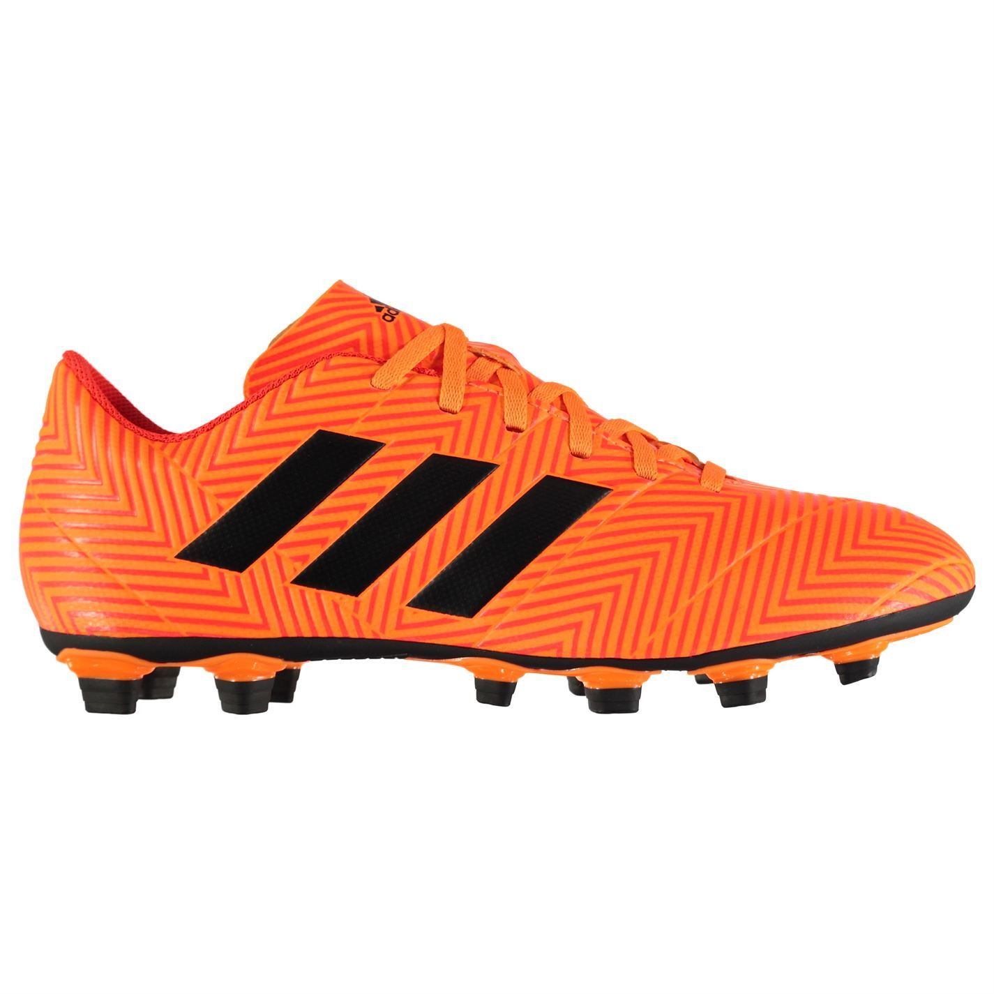 305b2ef16 ... adidas Nemeziz 18.4 Firm Ground Football Boots Mens Orange Soccer Shoes  Cleats ...
