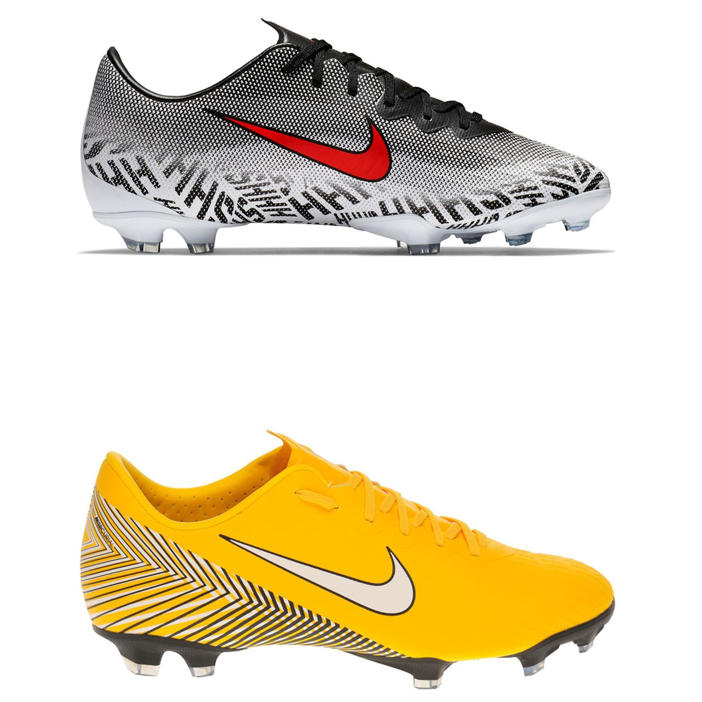 Détails sur Nike Mercurial Vapor Elite Neymar Sol Ferme Football Bottes Juniors Football