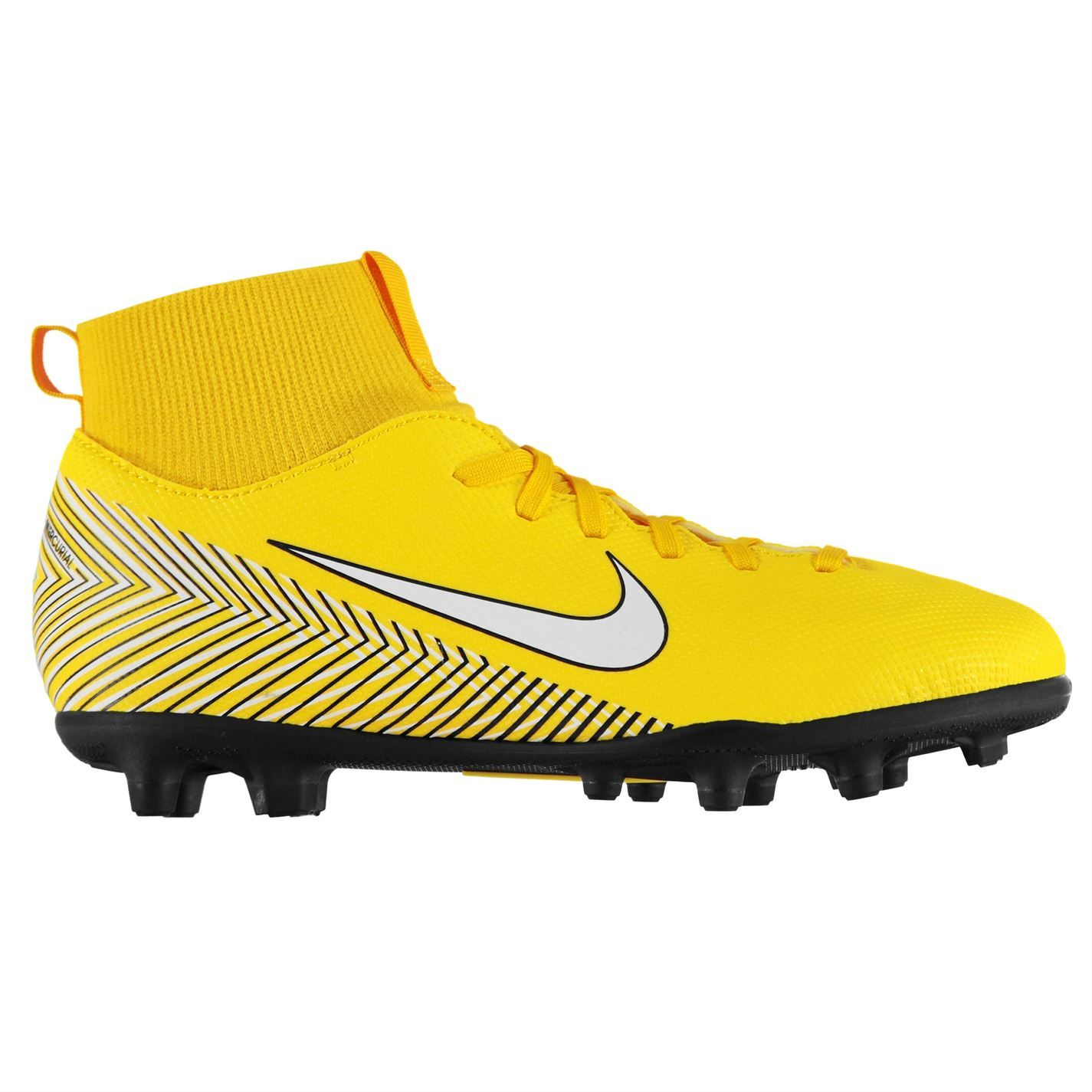 premium selection b889c b359e Details about Nike Mercurial Superfly Club Neymar Football Boots Juniors  Yellow Soccer Cleats