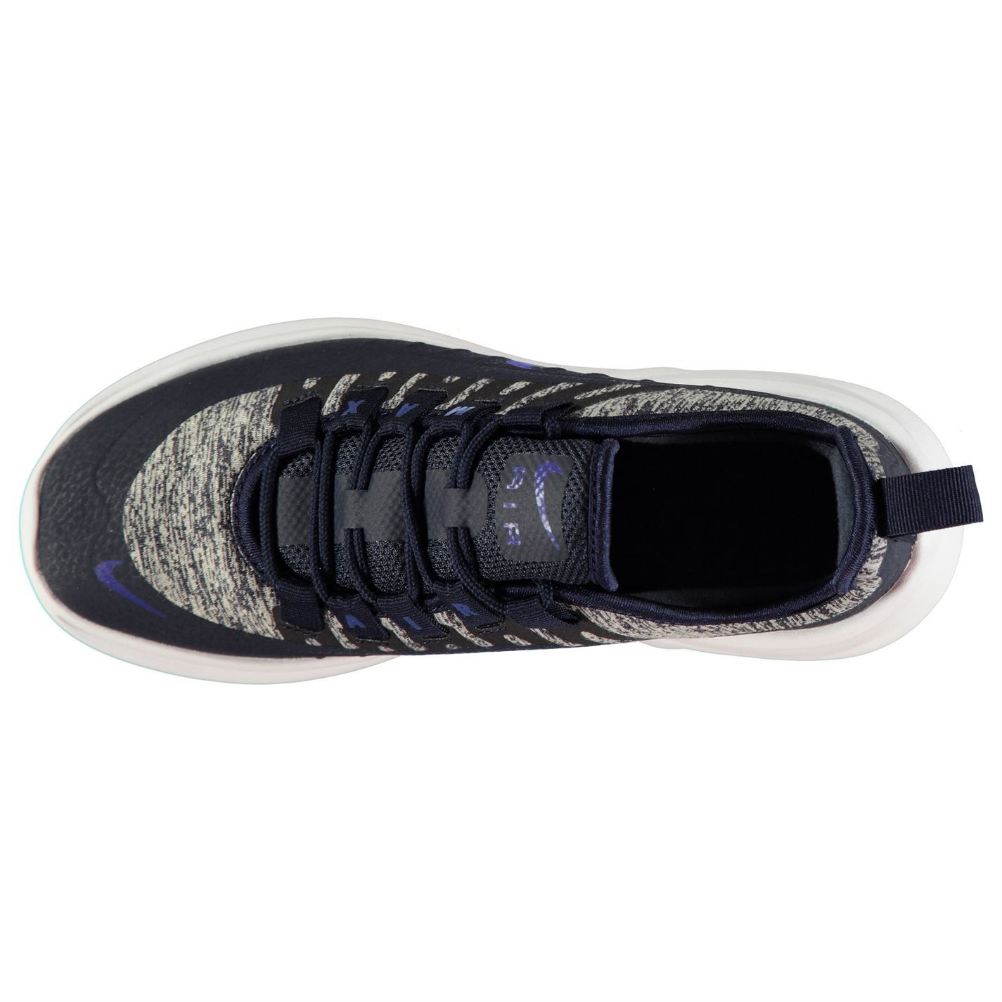 the best attitude 87818 262df ... Nike Air Max Axis SE Junior Boys Trainers Navy Blue Shoes Footwear