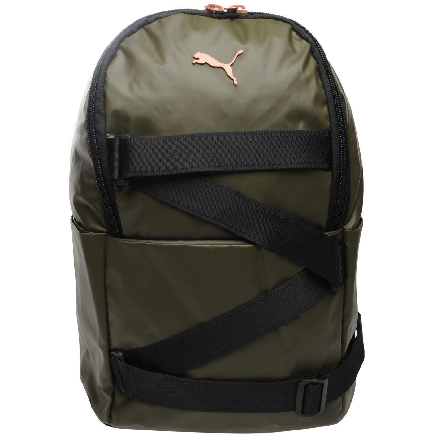 3c55dbcba166 ... Puma VR Barrel Bag Olive Sports Kit Holdall Carryall Gymbag