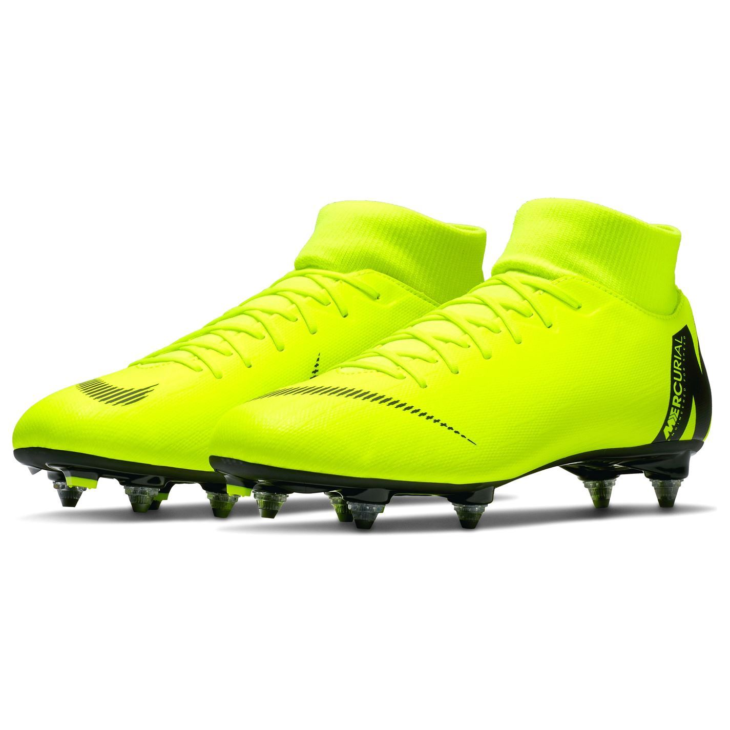 61c8bbc1382c ... Nike Mercurial Superfly Academy DF Soft Ground Football Boots Mens  Soccer Cleats ...