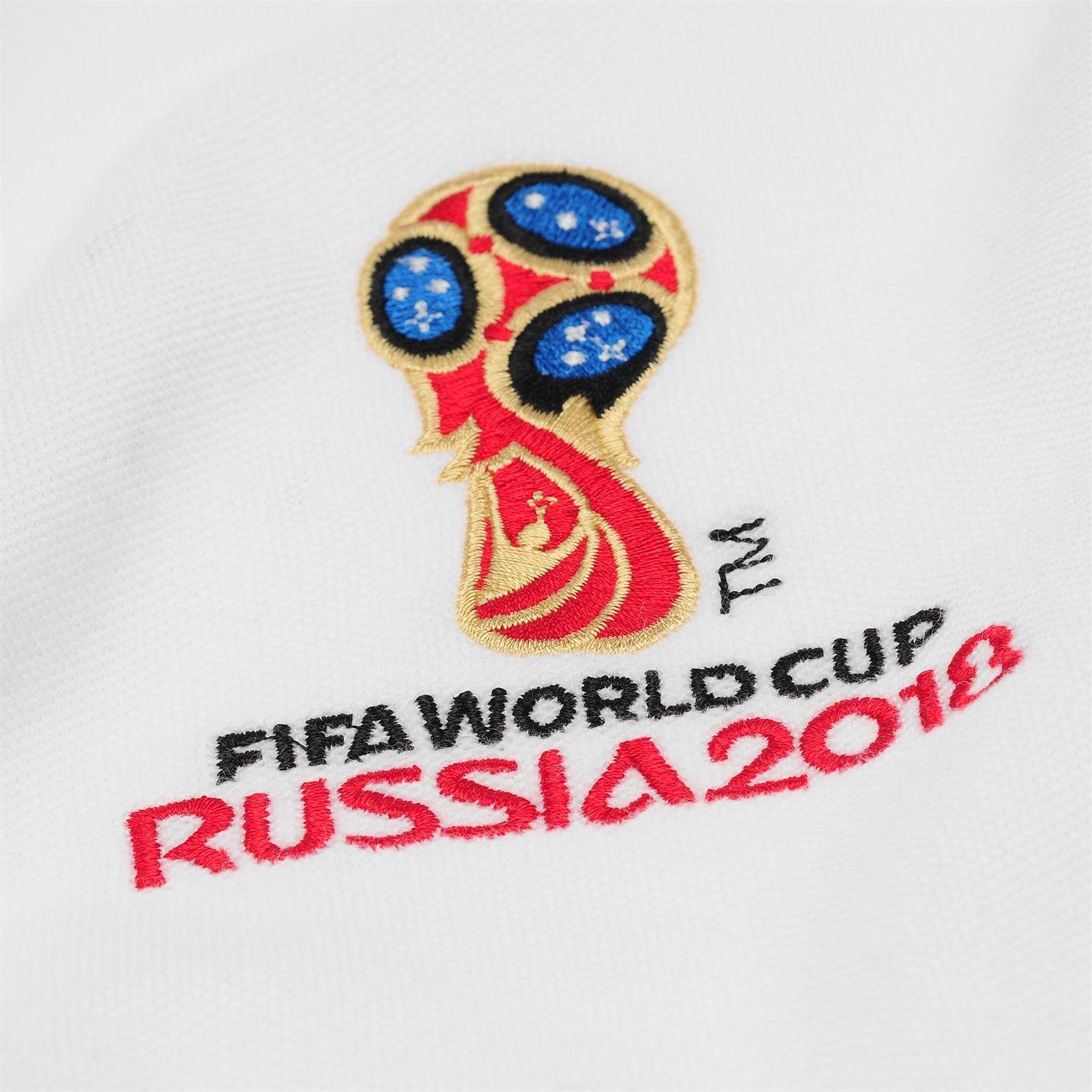c588d2fd6f FIFA World Cup 2018 Mexico Polo Shirt Mens White Football Soccer Top ...