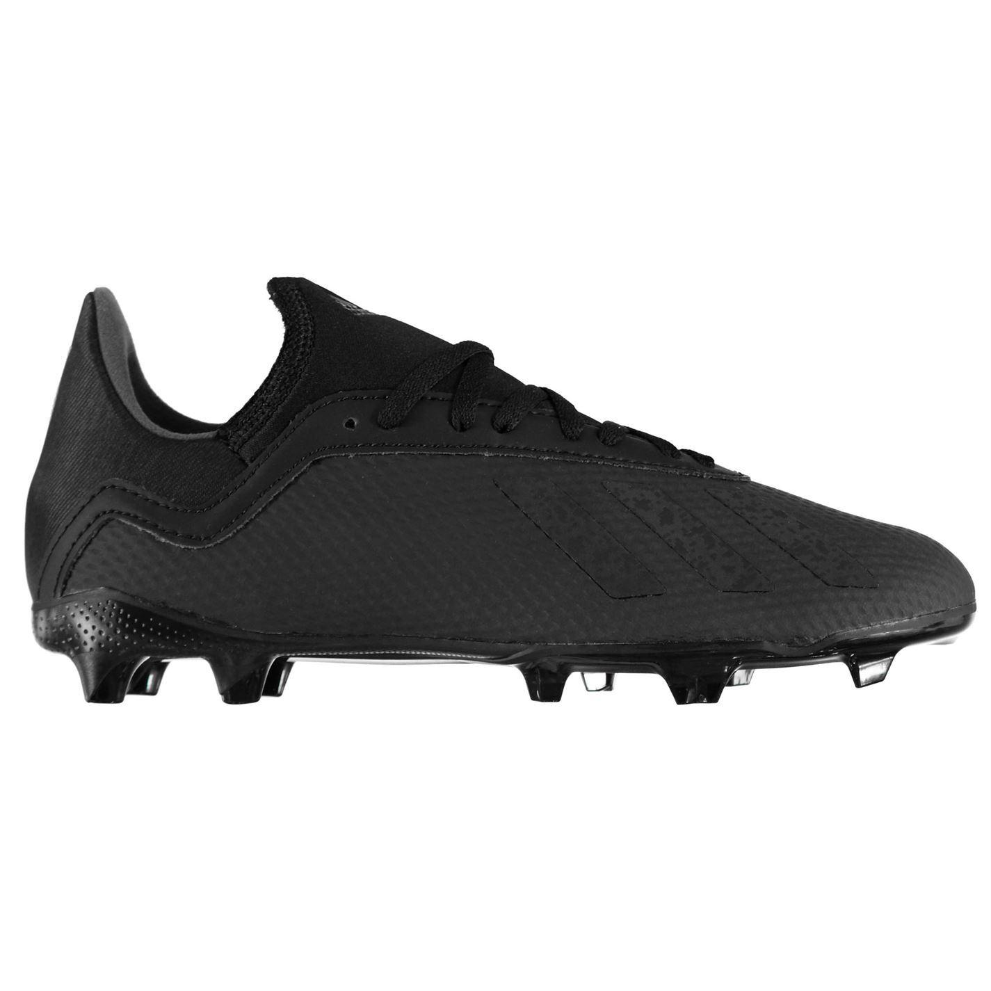 quite nice 720f0 3d66d ... 1 X 8,3 FG Firm Ground calcio stivali Juniors nero scarpe tacchetti da  calcio ...
