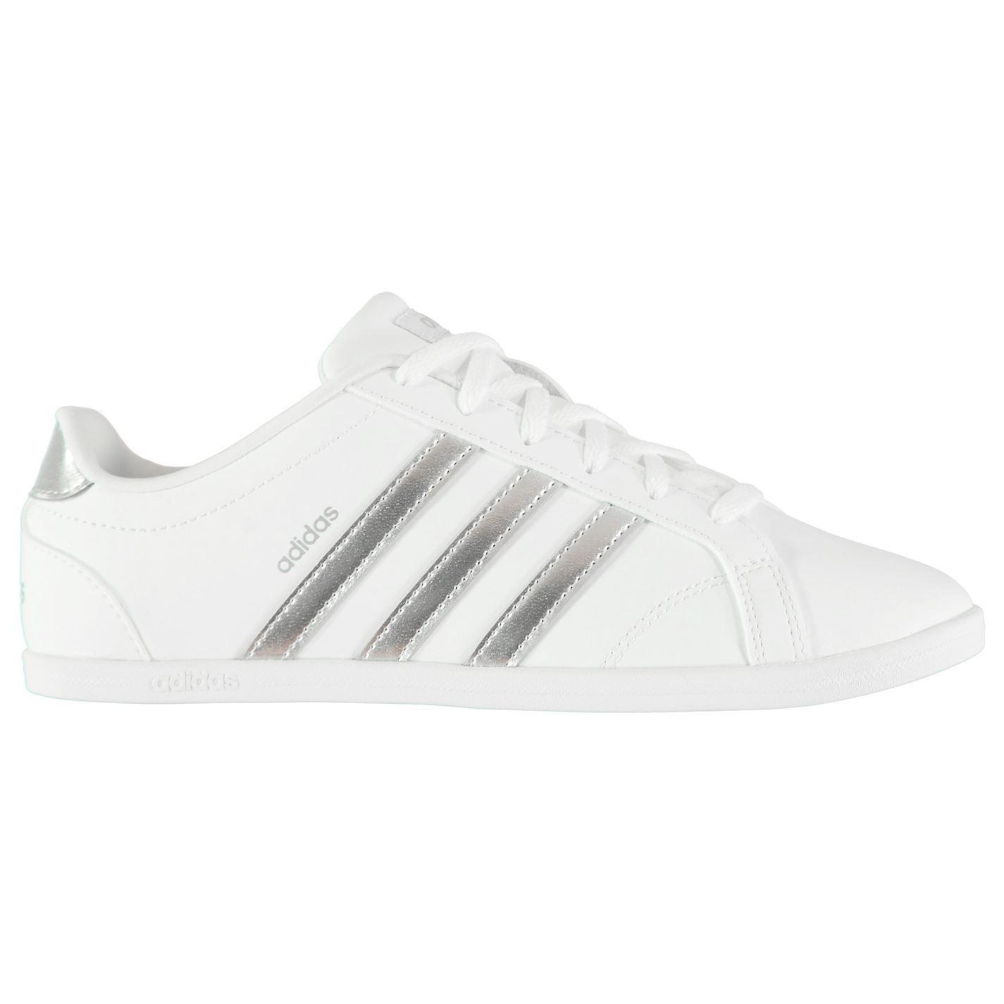 ladies white adidas trainers Online