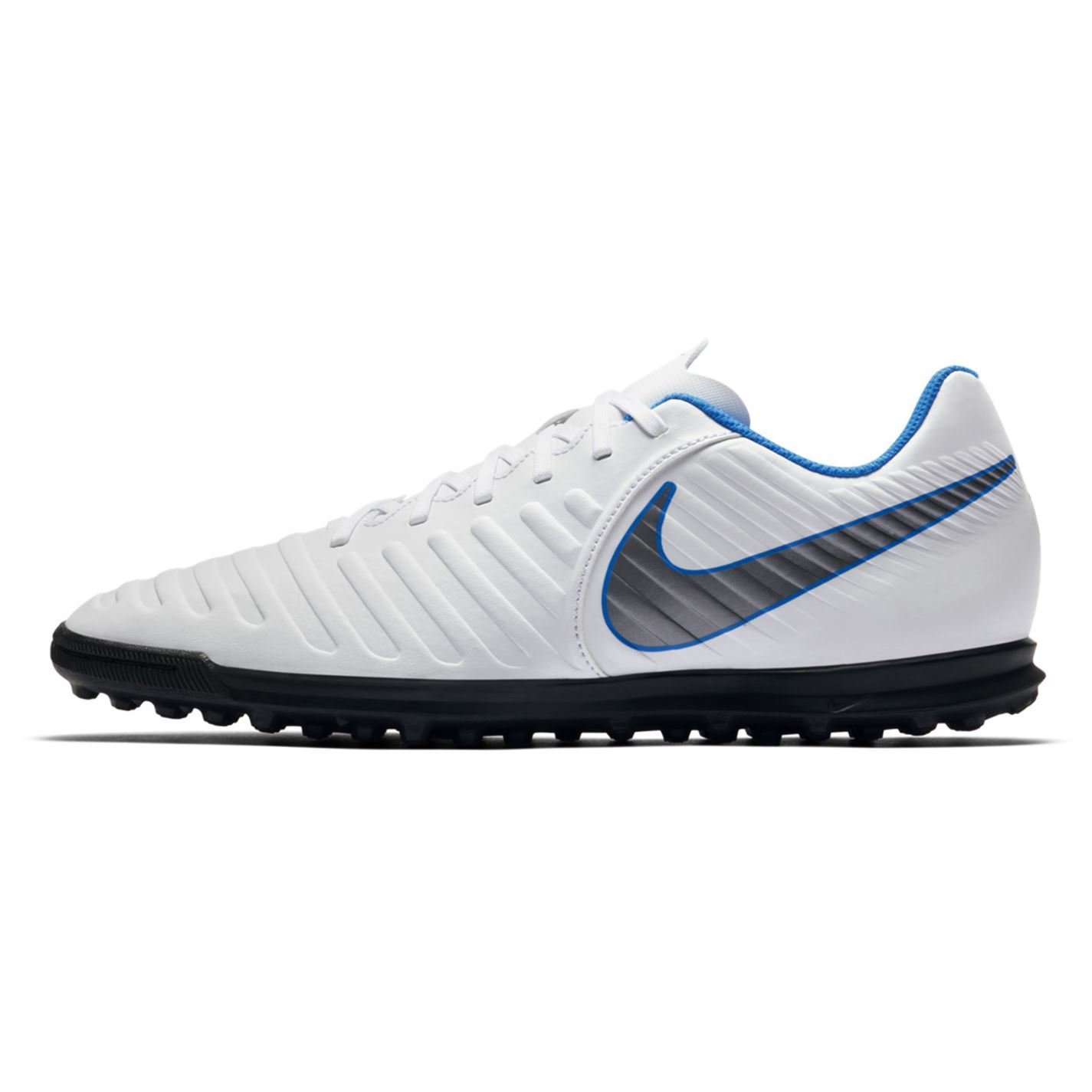 9e30e070da1 ... Nike Tiempo Legend Club Astro Turf Football Trainers Mens White Blue  Soccer Shoe ...