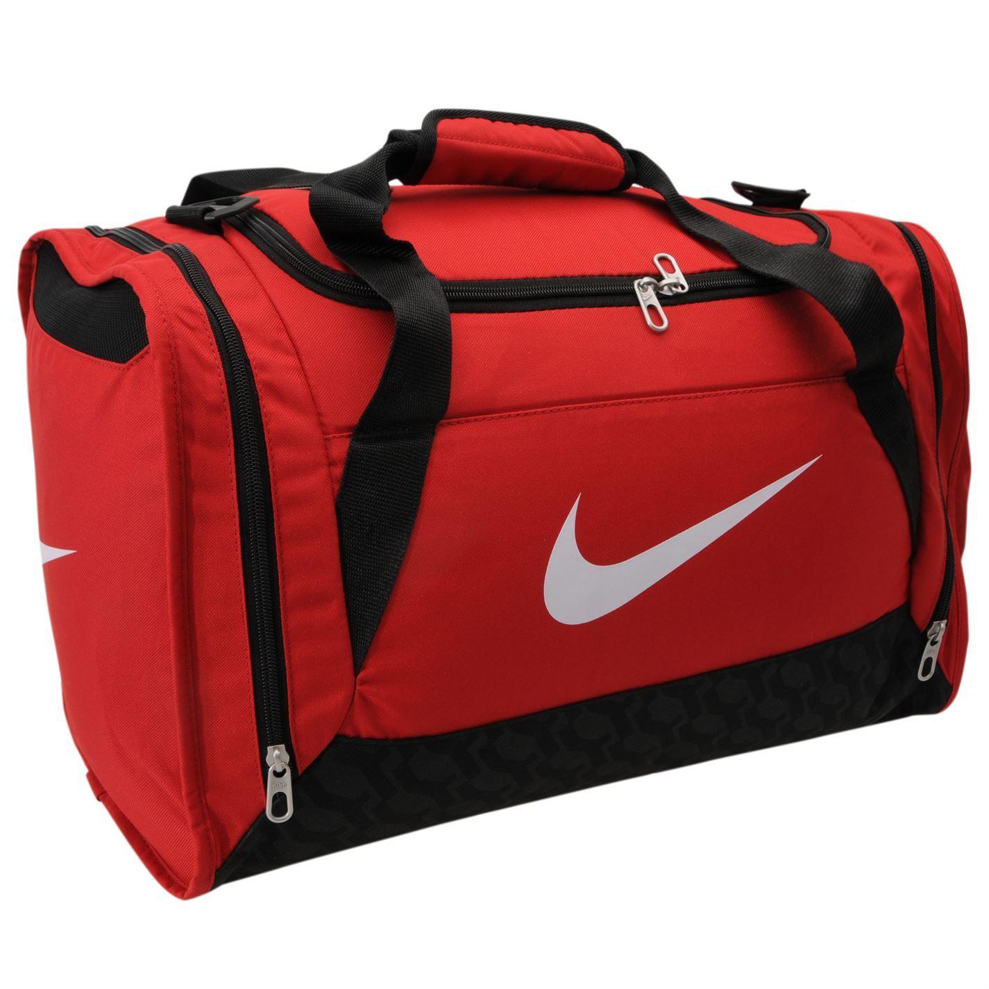 ... Nike Brasilia Small Grip Bag Red Gym Sports Bag Genuine ... 52948fe7d2140