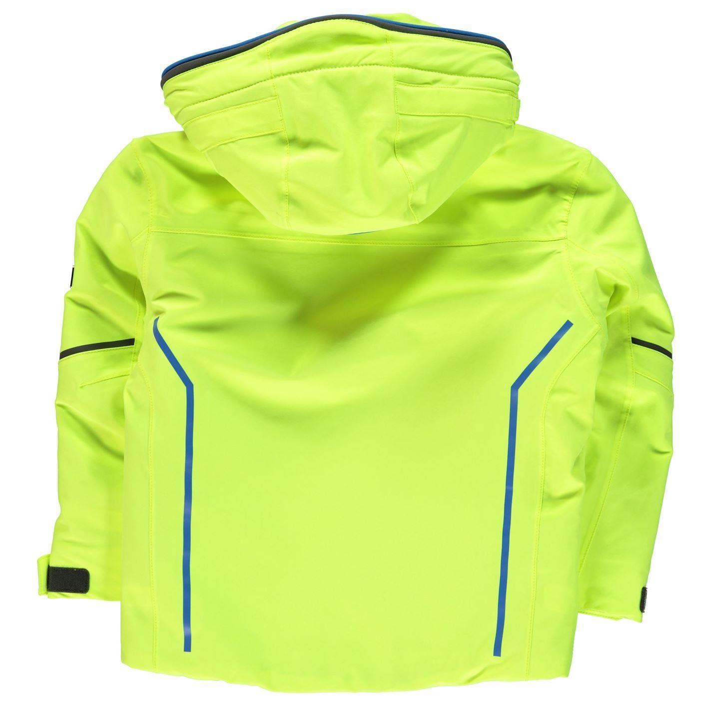 Nevica Gordon Jacket Junior Boys Yellow Snow Coat Skiing Outerwear ... 5a35290c458