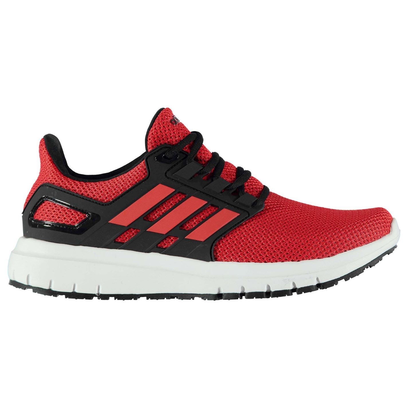 the best attitude 53b31 61fb2 ... adidas Energy Cloud 2 Running Shoes Mens RedBlackWht Jogging Trainers  Sneakers ...