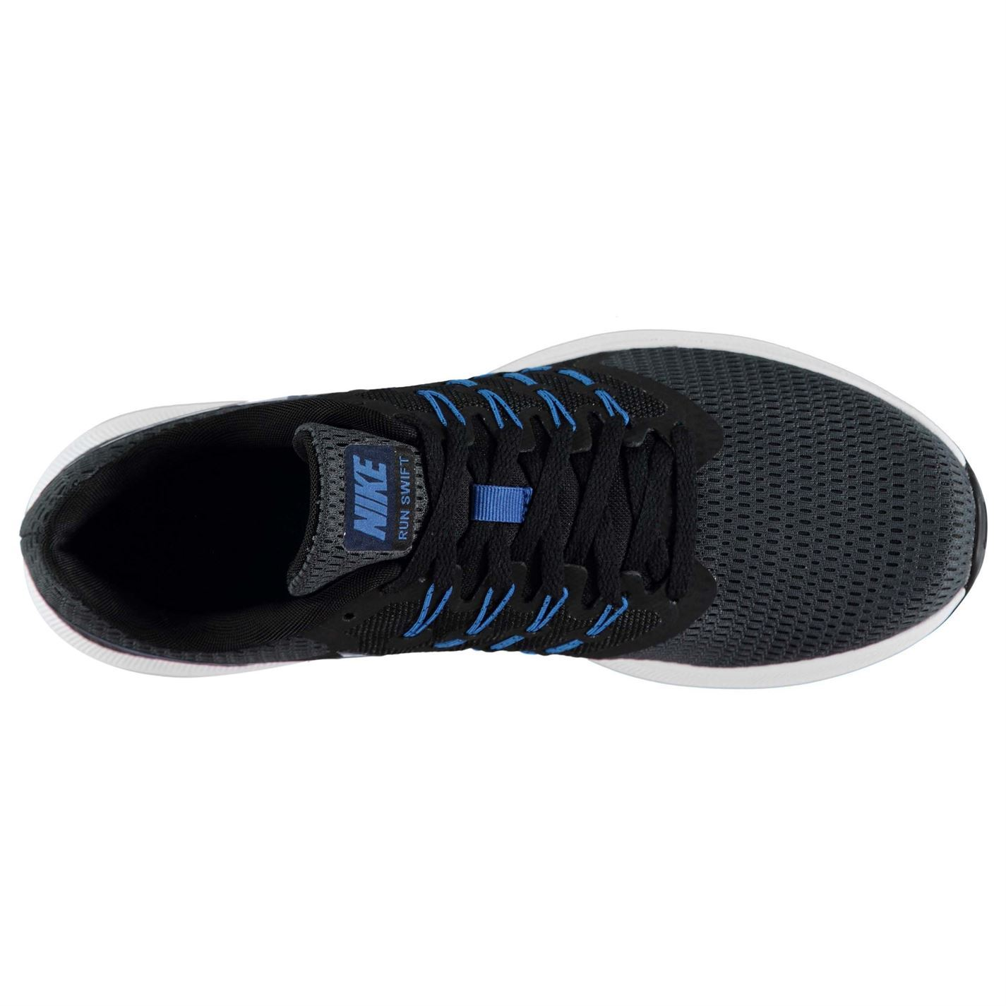 huge discount aad8f 1df9d ... Nike Run Swift Runners Running Shoes Mens Anthracite Navy Trainers  Sneakers