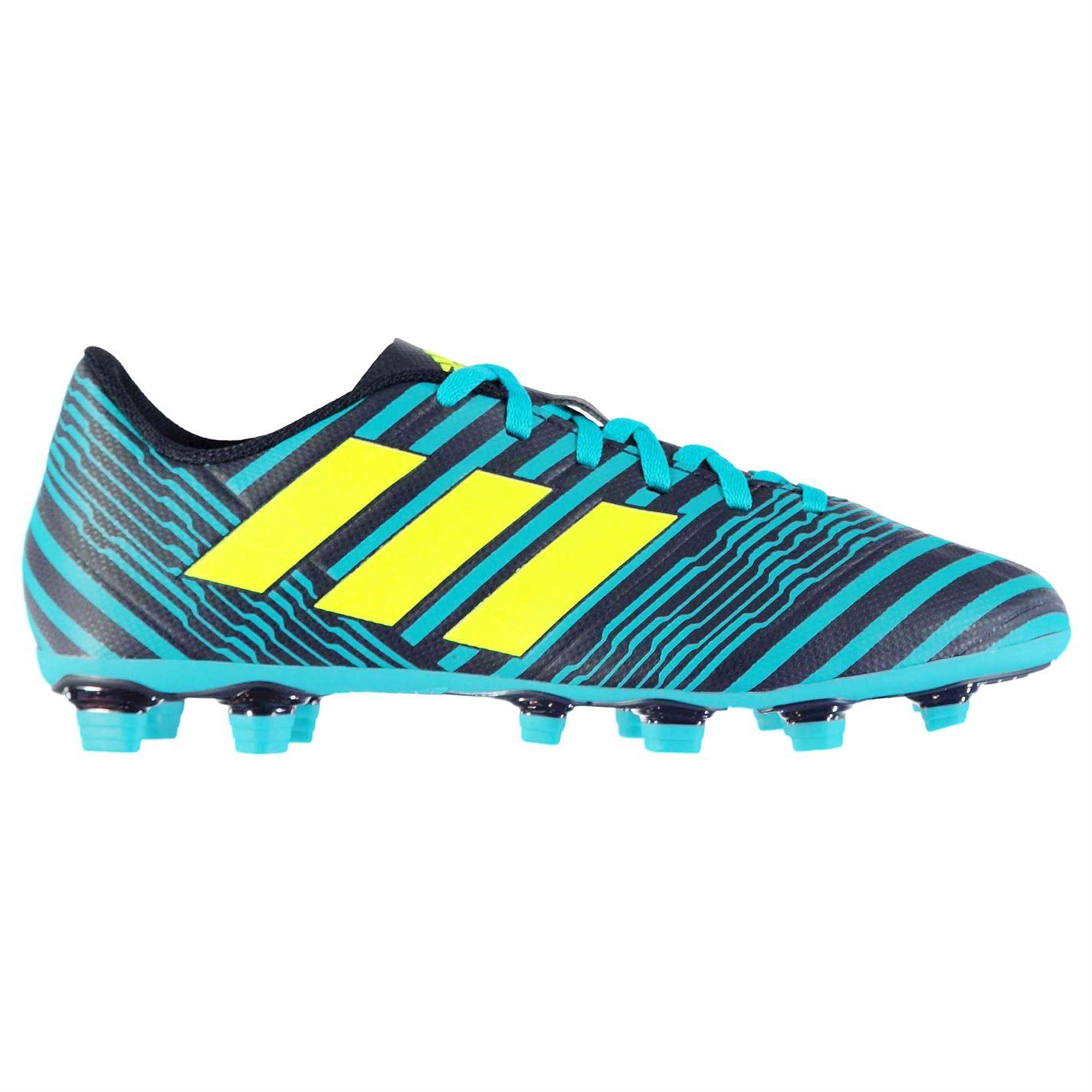 be9caeb7 ... adidas Nemeziz 17.4 FG Firm Ground Football Boots Mens Blue Soccer  Shoes Cleats ...