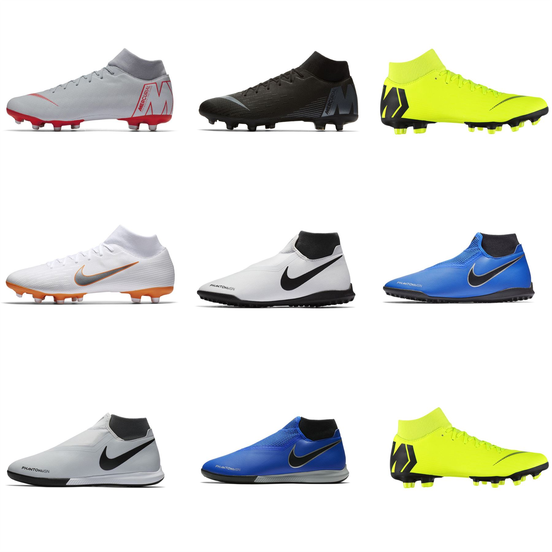 71c4ed33c Details about Nike Phantom Vision Academy DF Astro Turf Football Trainers  Mens Soccer Shoes